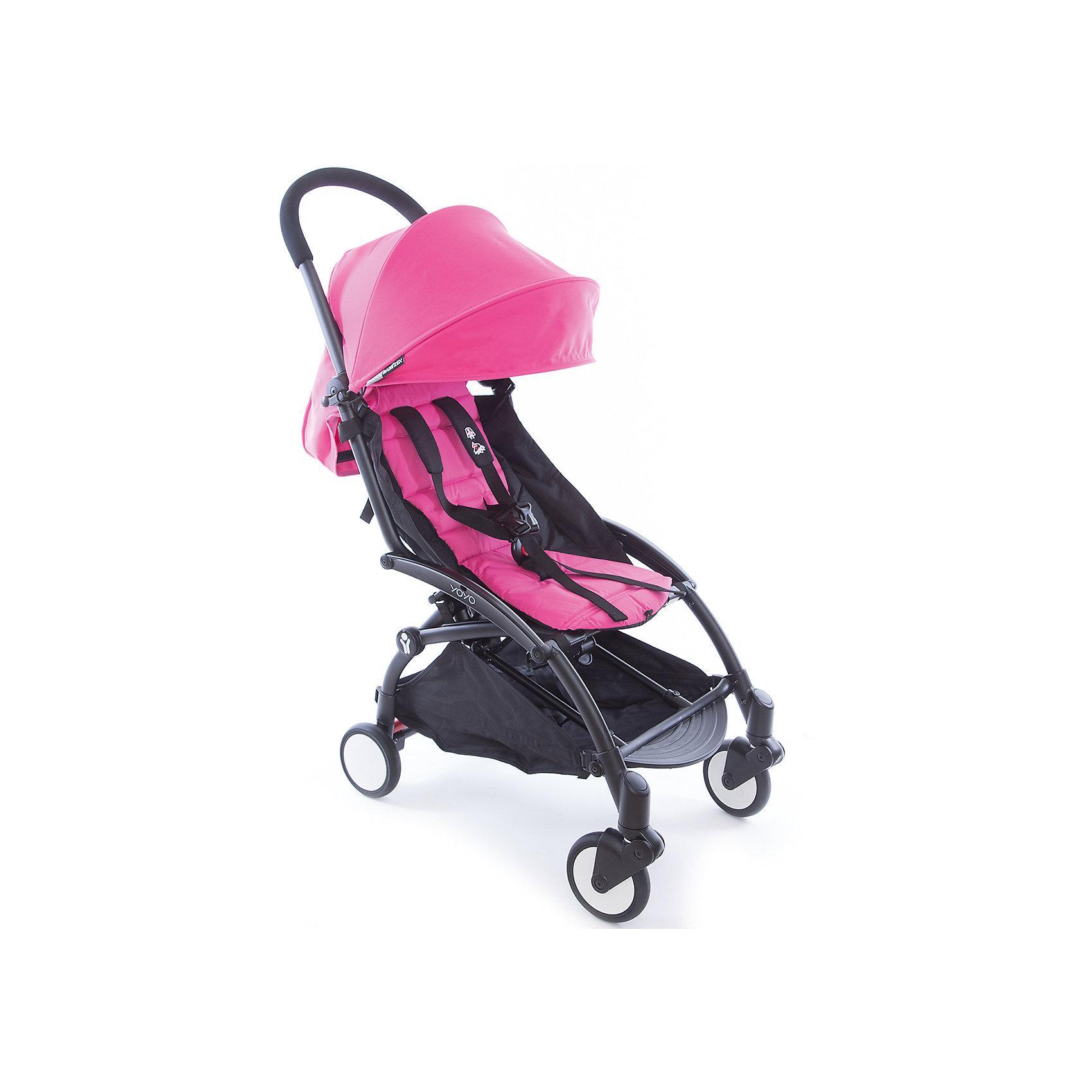 Капюшон и сиденье 6+ для YOYO+, Babyzen, розовыйПрогулочные коляски<br>Капюшон и сиденье 6+ для YOYO+, Babyzen (Бебизен), розовый<br><br>Характеристики:<br>• вы можете быстро изменить стиль своей коляски YOYO+<br>• установка занимает меньше 15 минут<br>• карман для мамы на капюшоне<br>• водоотталкивающий материал<br>• защита от солнца UV 50+<br>• подходит для коляски Babyzen YOYO+<br>• в комплекте: матрасик-сидение, капюшон<br>• цвет: розовый<br>• коллекция: 2017<br><br>Для того, чтобы коляска вашего малыша была самой стильной, достаточно выбрать подходящий цвет. Капюшон и сиденье розового цвета отлично подойдет для девочек. С ними Babyzen YOYO+ превратится в настоящий спортивный экипаж! Установка комплекта не займет у вас много времени. <br><br>Комплект выполнен из водоотталкивающего материала, что особенно удобно в непогоду. На капюшоне есть небольшой карман, в который вы сможете положить игрушку малыша или необходимые принадлежности. Капюшон оснащен козырьком с защитой от солнца UV 50+. Комплект подходит для детей старше 6 месяцев. Создайте свою стильную коляску Babyzen YOYO+!<br><br>Внимание!!!  Внимание!!! Аксессуары на фото показаны в готовом виде на базе (раме), которая продается отдельно.<br><br>Капюшон и сиденье 6+ для YOYO+, Babyzen (Бебизен), розовый вы можете купить в нашем интернет-магазине.<br><br>Ширина мм: 650<br>Глубина мм: 10<br>Высота мм: 10<br>Вес г: 730<br>Цвет: розовый<br>Возраст от месяцев: 6<br>Возраст до месяцев: 36<br>Пол: Женский<br>Возраст: Детский<br>SKU: 5445682
