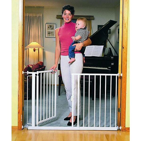 Ворота безопасности 75-82 см, Red CastleБлокирующие и защитные устройства для дома<br>Ворота безопасности 75-82 см, Red Castle (Ред Кастл)<br><br>Характеристики:<br><br>• помогут защитить ребенка от травм и падений<br>• автоматическое закрытие и блокировка<br>• быстро фиксируются при помощи прилегающих чашечек<br>• ребенок не сможет развинтить колесики креплений, благодаря запатентованному механизму крепления<br>• не открываются в одном направлении одновременно<br>• материал: металл с покрытием из белой краски и лака<br>• размер ворот: 75-82х75,5 см<br>• размер упаковки: 65х65х2 см<br>• вес: 6400 грамм<br><br>Ворота безопасности - незаменимая вещь для родителей. Они помогут защитить вашего малыша от травм, падений и других опасных ситуаций. Ворота можно установить в лестничный проем или проход, который должен быть недоступен для ребенка. Конструкция устанавливается без сверления, и фиксируется при помощи плотно прилегающих чашечек. <br><br>Колесики креплений оснащены специальным запатентованным механизмом, поэтому ваш кроха не сможет справиться с ними самостоятельно. Ширина ворот регулируется от 75 до 82 см. Дверца автоматически закрывается и блокируется, если вы забудете это сделать. Ворота безопасности помогут позаботиться о вашем малыше!<br><br>Ворота безопасности 75-82 см, Red Castle (Ред Кастл) вы можете купить в нашем интернет-магазине.<br>Ширина мм: 820; Глубина мм: 10; Высота мм: 751; Вес г: 6360; Возраст от месяцев: -2147483648; Возраст до месяцев: 2147483647; Пол: Унисекс; Возраст: Детский; SKU: 5445688;