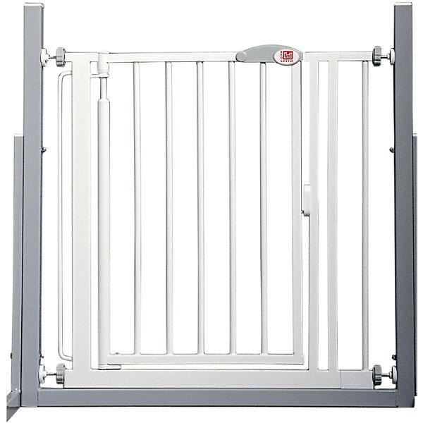Ворота безопасности 68,5-75,5 см, Red CastleВорота безопасности<br>Ворота безопасности 68,5-75,5 см, Red Castle (Ред Кастл)<br><br>Характеристики:<br><br>• помогут защитить ребенка от травм и падений<br>• автоматическое закрытие и блокировка<br>• быстро фиксируются при помощи прилегающих чашечек<br>• ребенок не сможет развинтить колесики креплений, благодаря запатентованному механизму крепления<br>• не открываются в одном направлении одновременно<br>• материал: металл с покрытием из белой краски и лака<br>• размер ворот: 68,5х75,5х75,5 см<br>• размер упаковки: 66х78,5х4 см<br>• вес: 6300 грамм<br><br>Ворота безопасности - незаменимая вещь для родителей. Они помогут защитить вашего малыша от травм, падений и других опасных ситуаций. Ворота можно установить в лестничный проем или проход, который должен быть недоступен для ребенка. Конструкция устанавливается без сверления, и фиксируется при помощи плотно прилегающих чашечек. <br><br>Колесики креплений оснащены специальным запатентованным механизмом, поэтому ваш кроха не сможет справиться с ними самостоятельно. Ширина ворот регулируется от 68,5 до 75,5 см. Дверца автоматически закрывается и блокируется, если вы забудете это сделать. Ворота безопасности помогут позаботиться о вашем малыше!<br><br>Ворота безопасности 68,5-75,5 см, Red Castle (Ред Кастл) вы можете купить в нашем интернет-магазине.<br>Ширина мм: 751; Глубина мм: 10; Высота мм: 751; Вес г: 6100; Возраст от месяцев: -2147483648; Возраст до месяцев: 2147483647; Пол: Унисекс; Возраст: Детский; SKU: 5445690;