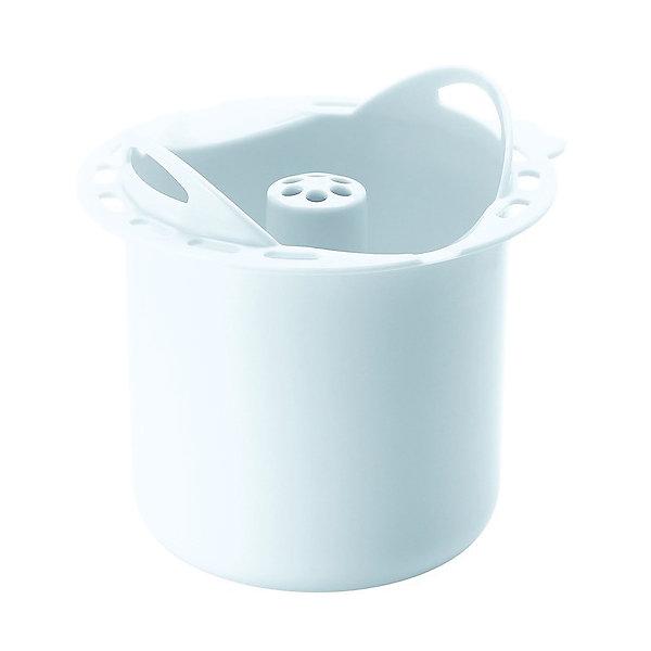 Контейнер для варки круп BBK, Beaba, белыйЕмкость для хранения продуктов<br>Контейнер для варки круп BBK, Beaba (Беаба), белый<br><br>Характеристики:<br><br>• поможет сварить крупу, макароны и бобовые без постоянного присмотра<br>• подходит для Babycook Solo/Duo<br>• высота: 8 см<br>• диаметр: 11 см<br>• материал: пластик<br>• размер упаковки: 12х12х9 см<br>• вес: 140 грамм<br><br>Контейнер BBK пригодится для варки круп, макаронных изделий и бобовых в пароварке Babycook Solo/Duo от Beaba. Пользоваться контейнером очень просто: насыпьте в центральную часть продукт, залейте водой, вставьте в чашу блендера-пароварки и установите нужный режим. Через некоторое время питание будет готово, в то время как вы можете спокойно заниматься своими делами.<br><br>Контейнер для варки круп BBK, Beaba (Беаба), белый можно купить в нашем интернет-магазине.<br><br>Ширина мм: 120<br>Глубина мм: 112<br>Высота мм: 110<br>Вес г: 140<br>Возраст от месяцев: 4<br>Возраст до месяцев: 2147483647<br>Пол: Унисекс<br>Возраст: Детский<br>SKU: 5445707