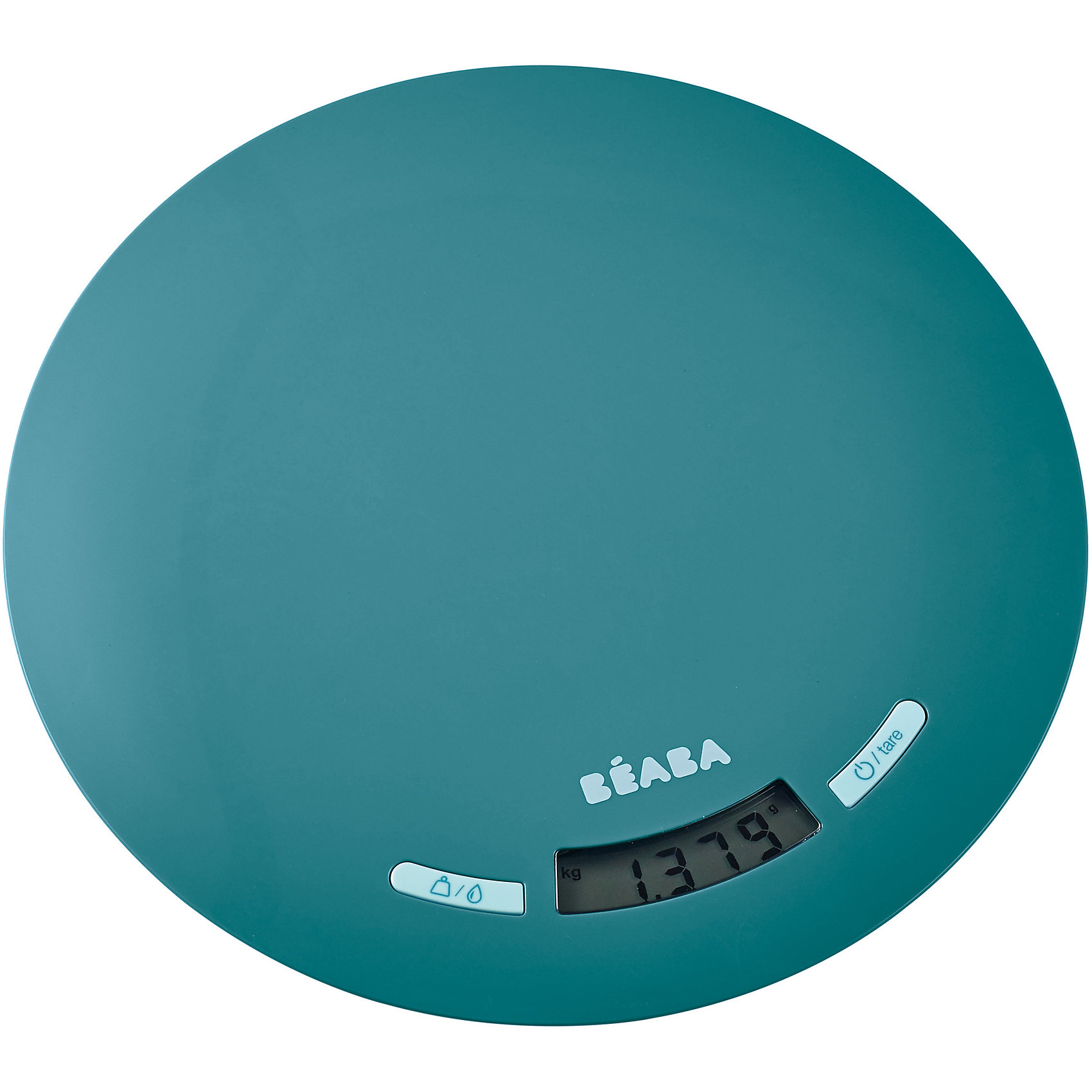 Весы кухонные Kitchen Scale, Beaba, синийБытовая техника для кухни<br>Весы кухонные Kitchen Scale, Beaba (Беаба), синий<br><br>Характеристики:<br><br>• режим тара<br>• функция запоминания<br>• автоматическое отключение<br>• допустимый вес: до 5 кг<br>• измерение в граммах и миллилитрах<br>• батарейки: CR20132 - 2 шт. (в комплекте)<br>• материал: пластик<br>• размер упаковки: 23х27х2 см<br><br>Кухонные весы помогут вам рассчитать вес питания, необходимого для ребенка. Воспользуйтесь режимом тара, чтобы определить вес продукта без учета упаковки. Для этого нужно поставить контейнер на весы, выбрать функцию тара, а затем взвесить продукт. Взвесив один продукт, выберите функцию возврат к нулю и добавьте еще один продукт - весы сами рассчитают массу второго продукта. Весы Kitchen Scale помогут вам сэкономить время для прекрасных игр с малышом!<br><br>Весы кухонные Kitchen Scale, Beaba (Беаба), синий вы можете купить в нашем интернет-магазине.<br><br>Ширина мм: 219<br>Глубина мм: 219<br>Высота мм: 8<br>Вес г: 380<br>Возраст от месяцев: 4<br>Возраст до месяцев: 2147483647<br>Пол: Унисекс<br>Возраст: Детский<br>SKU: 5445722