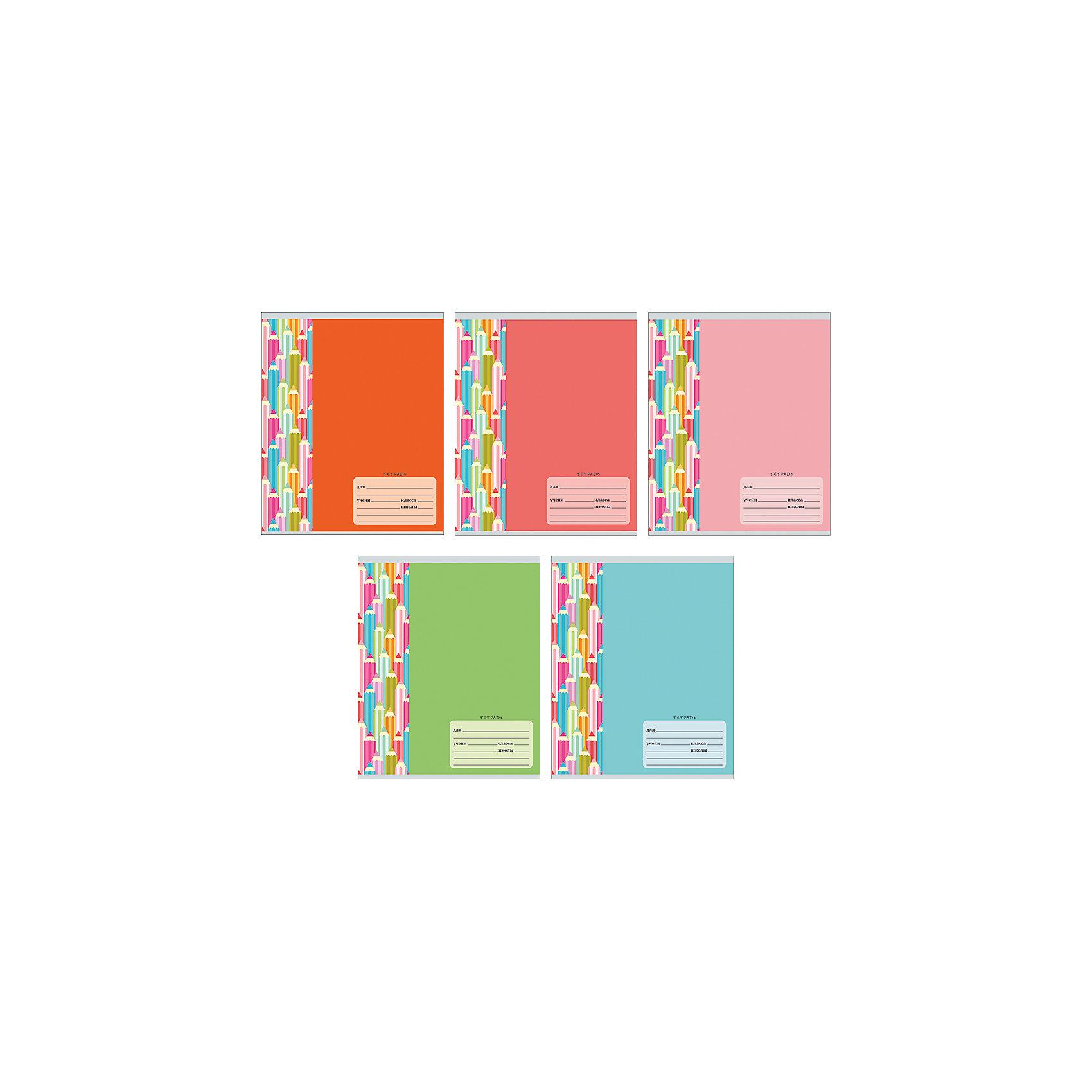 Комплект тетрадей Цветные карандаши (10 шт), 12 листов, Канц-ЭксмоБумажная продукция<br>Характеристики комплекта тетрадей Цветные карандаши:<br><br>• размеры: 20.2х16.3х3.5 см<br>• количество листов: 12 шт.<br>• разлиновка: линейка<br>• формат: А 5 <br>• комплектация: тетрадь<br>• бумага: офсет, плотностью 60 г/м2.<br>• обложка: мелованный картон, выборочный лак <br>• бренд: Канц-Эксмо<br>• страна бренда: Россия<br>• страна производителя: Россия<br><br>Комплект тетрадей Цветные карандаши от производителя Канц-Эксмо выполнен в формате А5. Количество листов 12, тетради в линейку с полями. Крепление: скрепка. Обложка у изделий плотная - мелованный картон, выборочный лак <br><br>Комплект тетрадей Цветные карандаши от производителя Канц-Эксмо можно купить в нашем интернет-магазине.<br><br>Ширина мм: 200<br>Глубина мм: 163<br>Высота мм: 20<br>Вес г: 39<br>Возраст от месяцев: 72<br>Возраст до месяцев: 2147483647<br>Пол: Унисекс<br>Возраст: Детский<br>SKU: 5448381
