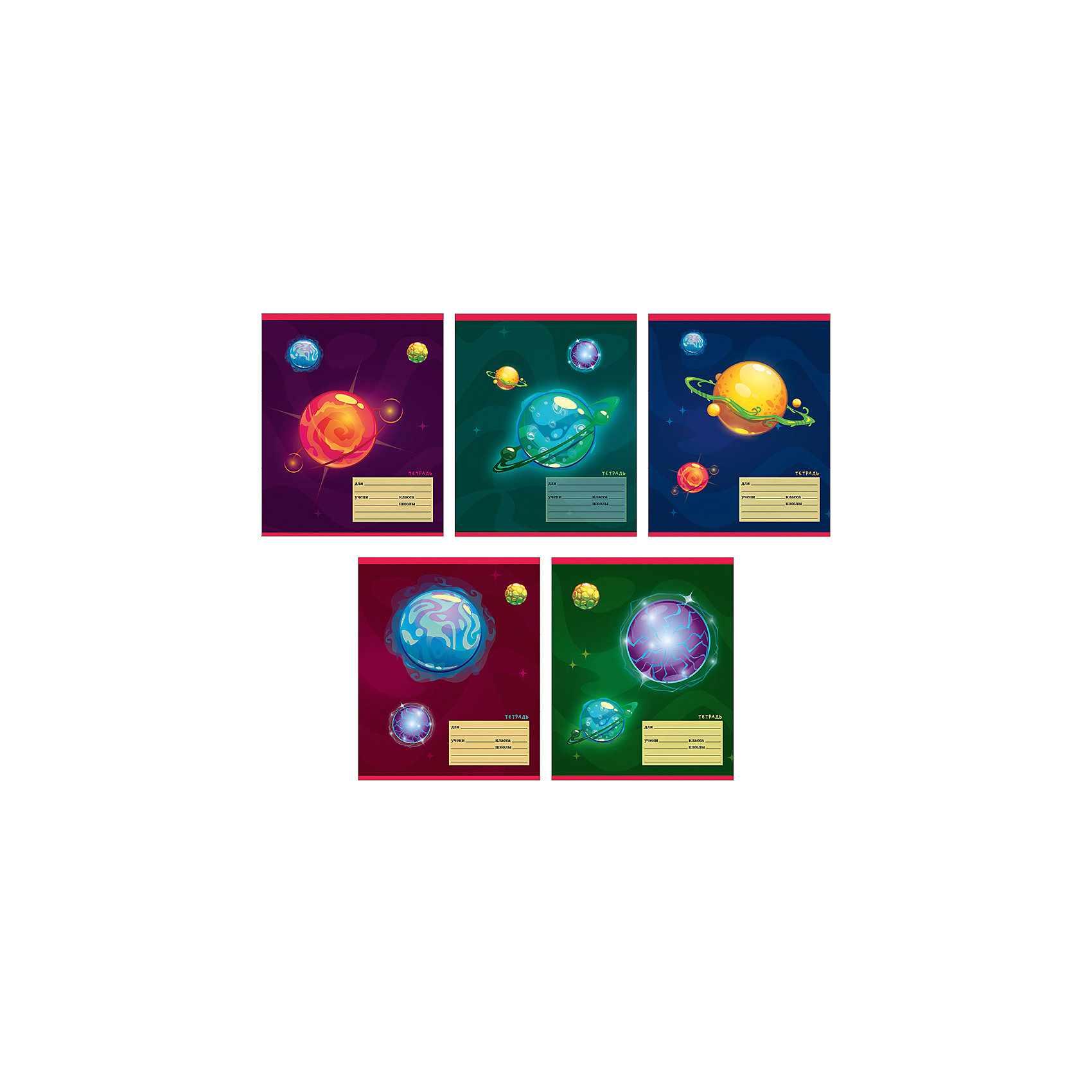 Комплект тетрадей Тайны галактики (10 шт), 12 листов,  Канц-ЭксмоБумажная продукция<br>Характеристики комплекта тетрадей Тайны галактики:<br><br>• размеры: 20.2х16.3х3.5 см<br>• количество листов: 12 шт.<br>• разлиновка: линейка<br>• формат: А 5 <br>• комплектация: тетрадь<br>• бумага: офсет, плотностью 60 г/м2.<br>• обложка: мелованный картон, выборочный лак <br>• бренд: Канц-Эксмо<br>• страна бренда: Россия<br>• страна производителя: Россия<br><br>Комплект тетрадей Тайны галактики от производителя Канц-Эксмо выполнен в формате А5. Количество листов 12, тетради в линейку с полями. Крепление: скрепка. Обложка у изделий плотная - мелованный картон, выборочный лак . Тетради будут по достойнству оценены любителями астрономии.<br><br>Комплект тетрадей Тайны галактики от производителя Канц-Эксмо можно купить в нашем интернет-магазине.<br><br>Ширина мм: 200<br>Глубина мм: 163<br>Высота мм: 20<br>Вес г: 39<br>Возраст от месяцев: 72<br>Возраст до месяцев: 2147483647<br>Пол: Мужской<br>Возраст: Детский<br>SKU: 5448383