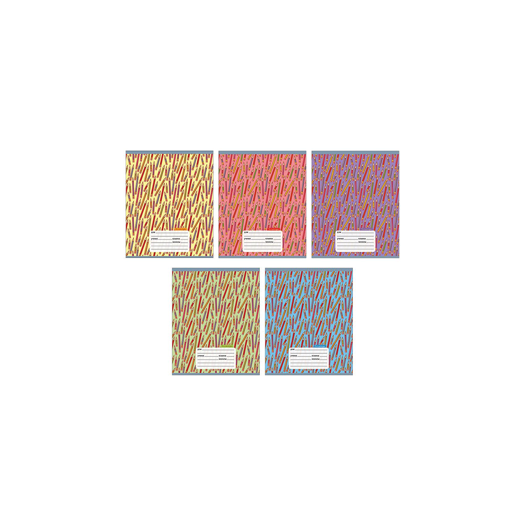 Комплект тетрадей Цветные карандаши (10 шт), 12 листов, Канц-ЭксмоБумажная продукция<br>Характеристики комплекта тетрадей Цветные карандаши:<br><br>• размеры: 20.2х16.3х3.5 см<br>• количество листов: 12 шт.<br>• разлиновка: клетка<br>• формат: А 5 <br>• комплектация: тетрадь<br>• бумага: офсет, плотностью 60 г/м2.<br>• обложка: мелованный картон, выборочный лак <br>• бренд: Канц-Эксмо<br>• страна бренда: Россия<br>• страна производителя: Россия<br><br>Комплект тетрадей Цветные карандаши от производителя Канц-Эксмо выполнен в формате А5. Количество листов 12, тетради в клетку с полями. Крепление: скрепка. Обложка у изделий плотная - мелованный картон, выборочный лак <br><br>Комплект тетрадей Цветные карандаши от производителя Канц-Эксмо можно купить в нашем интернет-магазине.<br><br>Ширина мм: 200<br>Глубина мм: 163<br>Высота мм: 20<br>Вес г: 39<br>Возраст от месяцев: 72<br>Возраст до месяцев: 2147483647<br>Пол: Унисекс<br>Возраст: Детский<br>SKU: 5448384