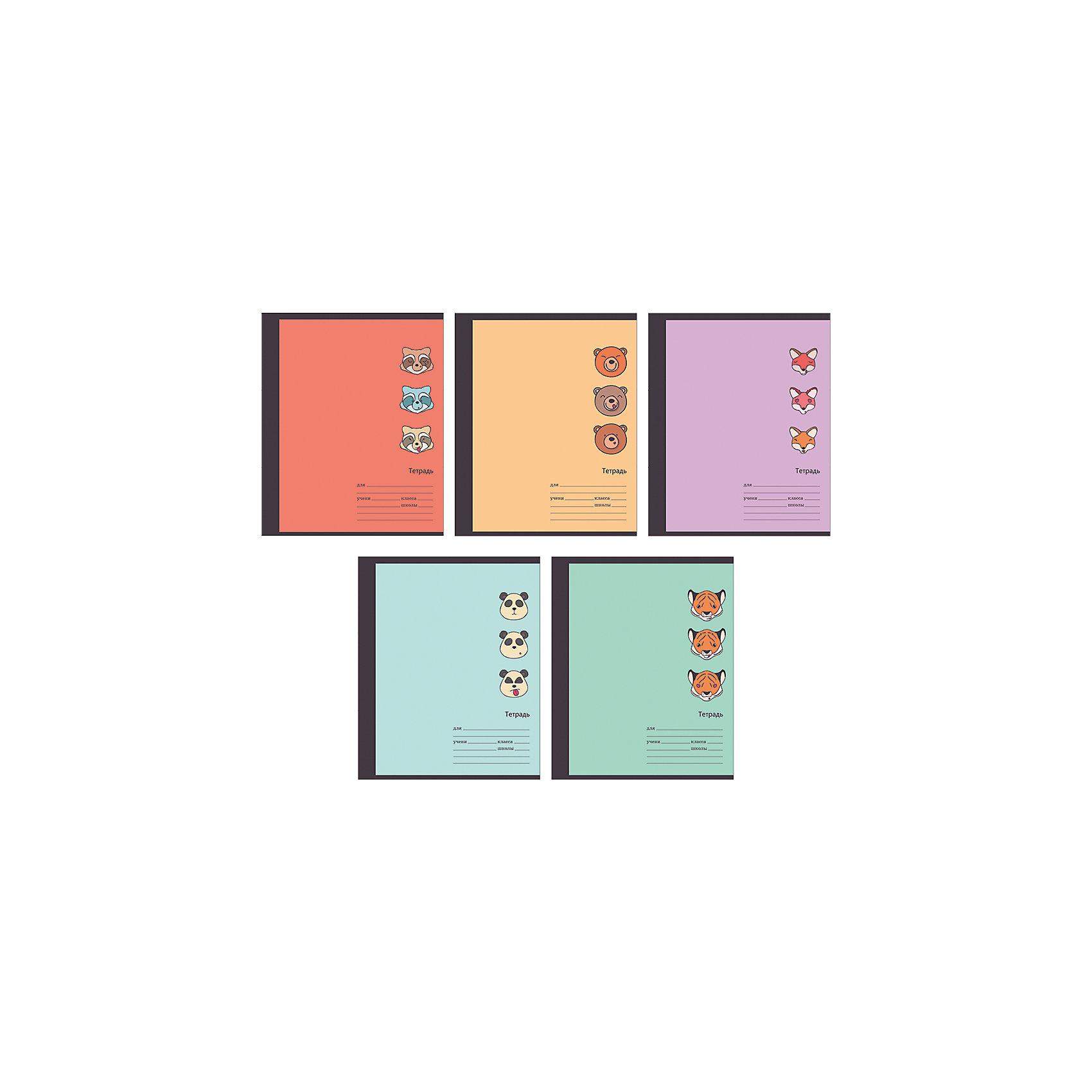 Комплект тетрадей Забавные звери (10 шт), 18 листов, Канц-ЭксмоБумажная продукция<br>Характеристики комплекта тетрадей Забавные звери:<br><br>• размеры: 20.2х16.3х3.5 см<br>• количество листов: 18 шт.<br>• разлиновка: линейка<br>• формат: А 5 <br>• комплектация: тетрадь<br>• бумага: офсет, плотностью 60 г/м2.<br>• обложка: мелованный картон , выборочный лак.<br>• бренд: Канц-Эксмо<br>• страна бренда: Россия<br>• страна производителя: Россия<br><br>Комплект тетрадей Забавные звери от производителя Канц-Эксмо выполнен в формате А5. Количество листов 18, тетради в линейку с полями. Крепление: скрепка. Обложка у изделий плотная - мелованный картон, выборочный лак.<br><br>Комплект тетрадей Забавные звери от производителя Канц-Эксмо можно купить в нашем интернет-магазине.<br><br>Ширина мм: 210<br>Глубина мм: 165<br>Высота мм: 20<br>Вес г: 52<br>Возраст от месяцев: 72<br>Возраст до месяцев: 2147483647<br>Пол: Унисекс<br>Возраст: Детский<br>SKU: 5448392