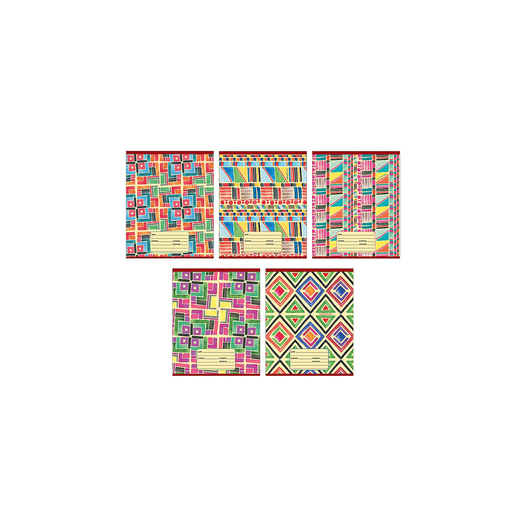 Комплект тетрадей Красочный калейдоскоп (10 шт), 24 листа, Канц-ЭксмоБумажная продукция<br>Характеристики комплекта тетрадей Красочный калейдоскоп:<br><br>• размеры: 20.2х16.3х3.5 см<br>• количество листов: 24 шт.<br>• разлиновка: клетка<br>• формат: А 5 <br>• комплектация: тетрадь<br>• бумага: офсет, плотностью 60 г/м2.<br>• Бренд: Канц-Эксмо<br>• страна бренда: Россия<br>• страна производителя: Россия<br><br>Комплект тетрадей Красочный калейдоскоп от производителя Канц-Эксмо выполнен в формате А5. Количество листов 24, тетради в клетку с полями. Крепление: скрепка. Обложка у изделий плотная - мелованный картон. <br><br>Комплект тетрадей Красочный калейдоскоп от производителя Канц-Эксмо можно купить в нашем интернет-магазине.<br><br>Ширина мм: 202<br>Глубина мм: 163<br>Высота мм: 20<br>Вес г: 67<br>Возраст от месяцев: 72<br>Возраст до месяцев: 2147483647<br>Пол: Унисекс<br>Возраст: Детский<br>SKU: 5448396