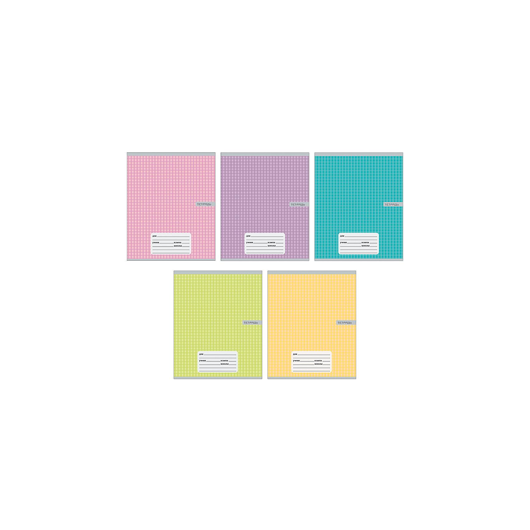 Комплект тетрадей Однотонная клетка (10 шт), 24 листа, Канц-ЭксмоБумажная продукция<br>Характеристики комплекта тетрадей Однотонная клетка:<br><br>• размеры: 20.2х16.3х3.5 см<br>• количество листов: 24 шт.<br>• разлиновка: клетка<br>• формат: А 5 <br>• комплектация: тетрадь<br>• бумага: офсет, плотностью 60 г/м2.<br>• Бренд: Канц-Эксмо<br>• страна бренда: Россия<br>• страна производителя: Россия<br><br>Комплект тетрадей Однотонная клетка от производителя Канц-Эксмо выполнен в формате А5. Количество листов 24, тетради в клетку с полями. Крепление: скрепка. Обложка у изделий плотная - мелованный картон. Тетради будут незамимы помощниками в школе. <br><br>Комплект тетрадей Однотонная клетка торговой марки Канц-Эксмо можно купить в нашем интернет-магазине.<br><br>Ширина мм: 202<br>Глубина мм: 163<br>Высота мм: 20<br>Вес г: 67<br>Возраст от месяцев: 72<br>Возраст до месяцев: 2147483647<br>Пол: Унисекс<br>Возраст: Детский<br>SKU: 5448397