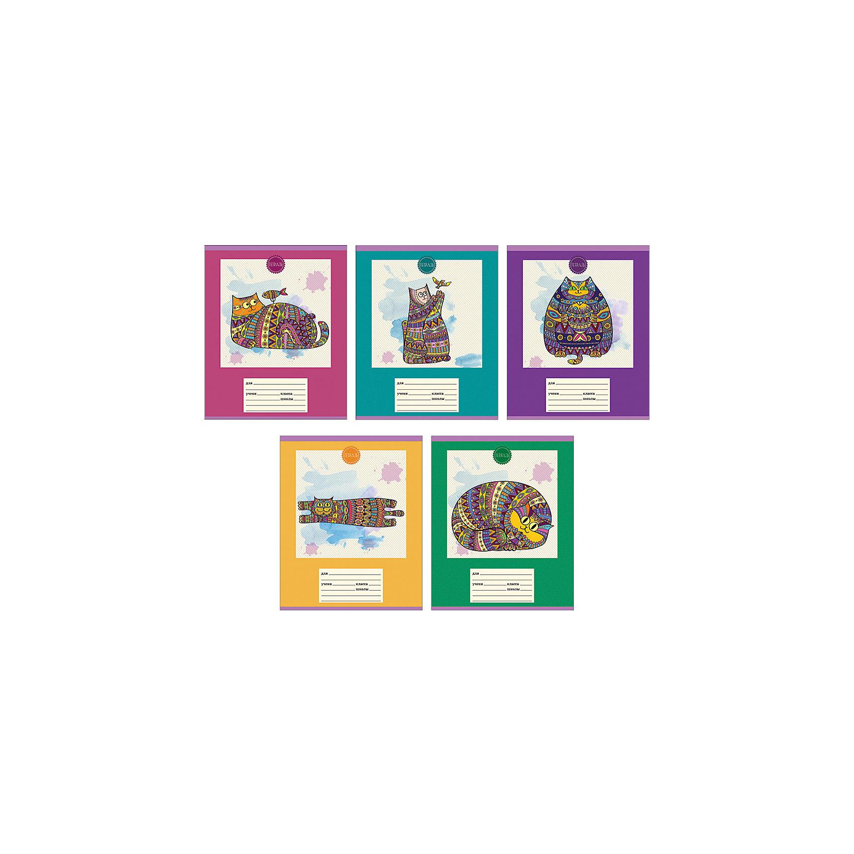 Комплект тетрадей Сказочные коты (10 шт), 24 листа, Канц-ЭксмоБумажная продукция<br>Характеристики комплекта тетрадей Сказочные коты:<br><br>• размеры: 20.2х16.3х3.5 см<br>• количество листов: 24 шт.<br>• разлиновка: клетка<br>• формат: А 5 <br>• комплектация: тетрадь<br>• бумага: офсет, плотностью 60 г/м2.<br>• Бренд: Канц-Эксмо<br>• страна бренда: Россия<br>• страна производителя: Россия<br><br>Комплект тетрадей Сказочные коты от российского производителя Канц-Эксмо выполнен в формате А5. На обложке тетрадей нанесены волшебные коты. Количество листов 24, тетради в клетку с полями. Крепление: скрепка. Обложка у изделий плотная - мелованный картон, выборочный лак.<br><br>Комплект тетрадей Сказочные коты от российского производителя Канц-Эксмо можно купить в нашем интернет-магазине.<br><br>Ширина мм: 202<br>Глубина мм: 163<br>Высота мм: 20<br>Вес г: 66<br>Возраст от месяцев: 72<br>Возраст до месяцев: 2147483647<br>Пол: Женский<br>Возраст: Детский<br>SKU: 5448401