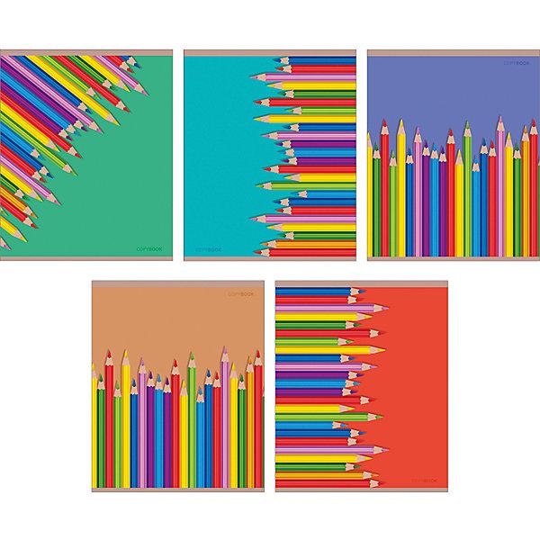Комплект тетрадей Цветные карандаши (10 шт), 48 листов, Канц-ЭксмоБумажная продукция<br>Характеристики комплекта тетрадей Цветные карандаши:<br><br>• размеры: 20.2х16.3х3.5 см<br>• количество листов: 48 шт.<br>• разлиновка: клетка<br>• формат: А 5 <br>• комплектация: тетрадь<br>• бумага: офсет, плотностью 60 г/м2.<br>• обложка: мелованный картон, выборочный лак.<br>• бренд: Канц-Эксмо<br>• страна бренда: Россия<br>• страна производителя: Россия<br><br>Комплект тетрадей Цветные карандаши от производителя Канц-Эксмо выполнен в формате А5. Количество листов 48, тетради в клетку с полями. Крепление: скрепка. Обложка у изделий плотная - мелованный картон, выборочный лак <br><br>Комплект тетрадей Цветные карандаши от производителя Канц-Эксмо можно купить в нашем интернет-магазине.<br>Ширина мм: 202; Глубина мм: 163; Высота мм: 40; Вес г: 103; Возраст от месяцев: 72; Возраст до месяцев: 2147483647; Пол: Унисекс; Возраст: Детский; SKU: 5448410;