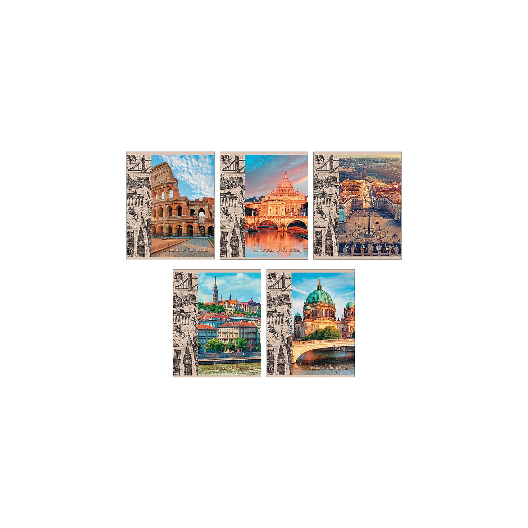 Комплект тетрадей Памятные путешествия (10 шт), 48 листов, Канц-ЭксмоБумажная продукция<br>Характеристики комплекта тетрадей Памятные путешествия:<br><br>• размеры: 20.2х16.3х3.5 см<br>• количество листов: 48 шт.<br>• разлиновка: линейка<br>• формат: А 5 <br>• комплектация: тетрадь<br>• бумага: офсет, плотностью 60 г/м2.<br>• обложка: мелованный картон<br>• бренд: Канц-Эксмо<br>• страна бренда: Россия<br>• страна производителя: Россия<br><br>Комплект тетрадей Памятные путешествия от производителя Канц-Эксмо выполнен в формате А5. Количество листов 48, тетради в линейку с полями. Крепление: скрепка. Обложка у изделий плотная - мелованный картон, выборочный лак <br><br>Комплект тетрадей Памятные путешествия от производителя Канц-Эксмо можно купить в нашем интернет-магазине.<br><br>Ширина мм: 202<br>Глубина мм: 165<br>Высота мм: 40<br>Вес г: 103<br>Возраст от месяцев: 72<br>Возраст до месяцев: 2147483647<br>Пол: Унисекс<br>Возраст: Детский<br>SKU: 5448414