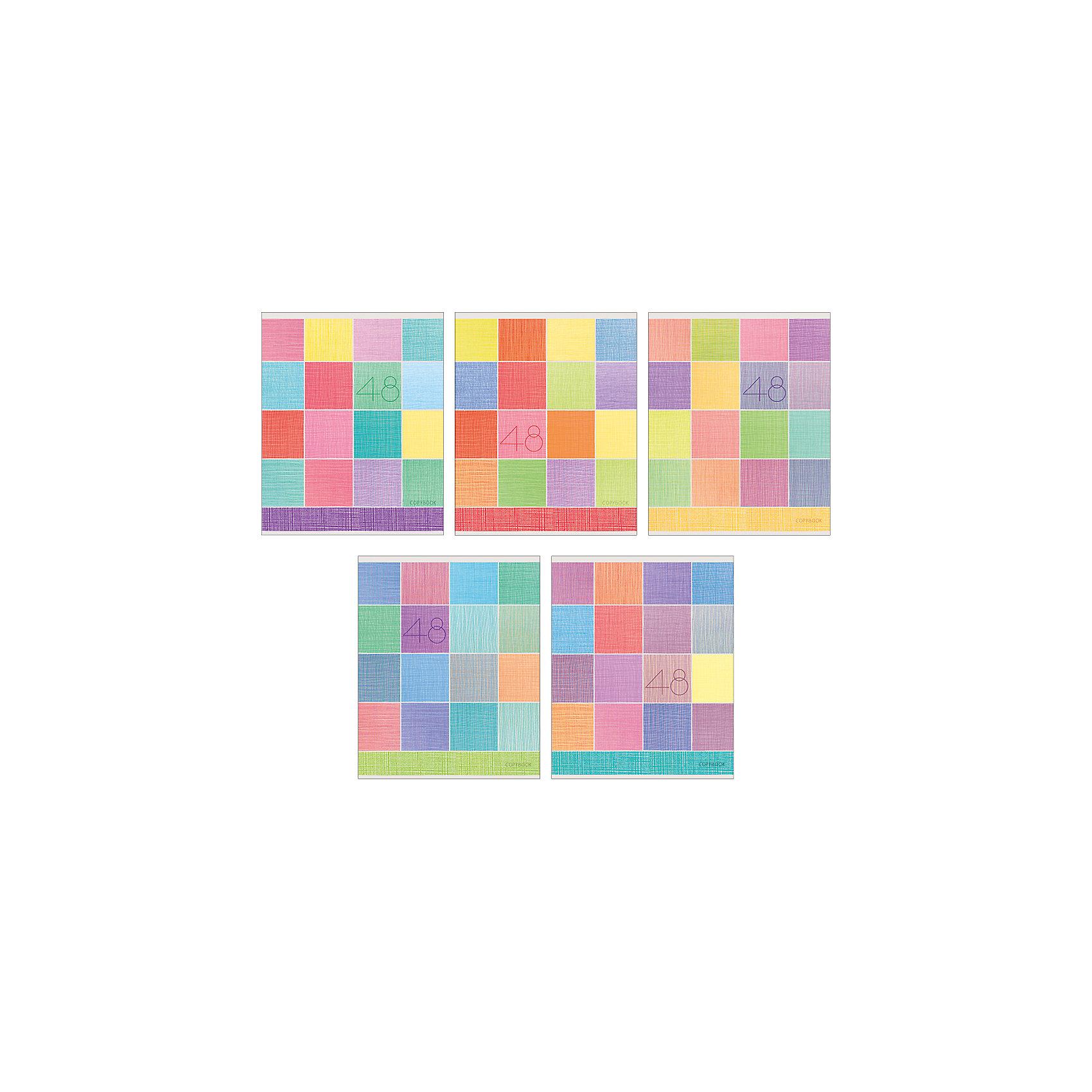 Комплект тетрадей Фактурный орнамент (10 шт), 48 листов, Канц-ЭксмоБумажная продукция<br>Характеристики комплекта тетрадей Фактурный орнамент:<br><br>• размеры: 20.2х16.3х3.5 см<br>• количество листов: 48 шт.<br>• разлиновка: клетка<br>• формат: А 5 <br>• комплектация: тетрадь<br>• бумага: офсет, плотностью 60 г/м2.<br>• обложка: мелованный картон, матовая ламинация.<br>• бренд: Канц-Эксмо<br>• страна бренда: Россия<br>• страна производителя: Россия<br><br>Комплект тетрадей Фактурный орнамент от производителя Канц-Эксмо выполнен в формате А5. Количество листов 48, тетради в клетку с полями. Крепление: скрепка. Обложка у изделий плотная - мелованный картон, выборочный лак <br><br>Комплект тетрадей Фактурный орнамент от производителя Канц-Эксмо можно купить в нашем интернет-магазине.<br><br>Ширина мм: 202<br>Глубина мм: 165<br>Высота мм: 40<br>Вес г: 103<br>Возраст от месяцев: 72<br>Возраст до месяцев: 2147483647<br>Пол: Унисекс<br>Возраст: Детский<br>SKU: 5448417