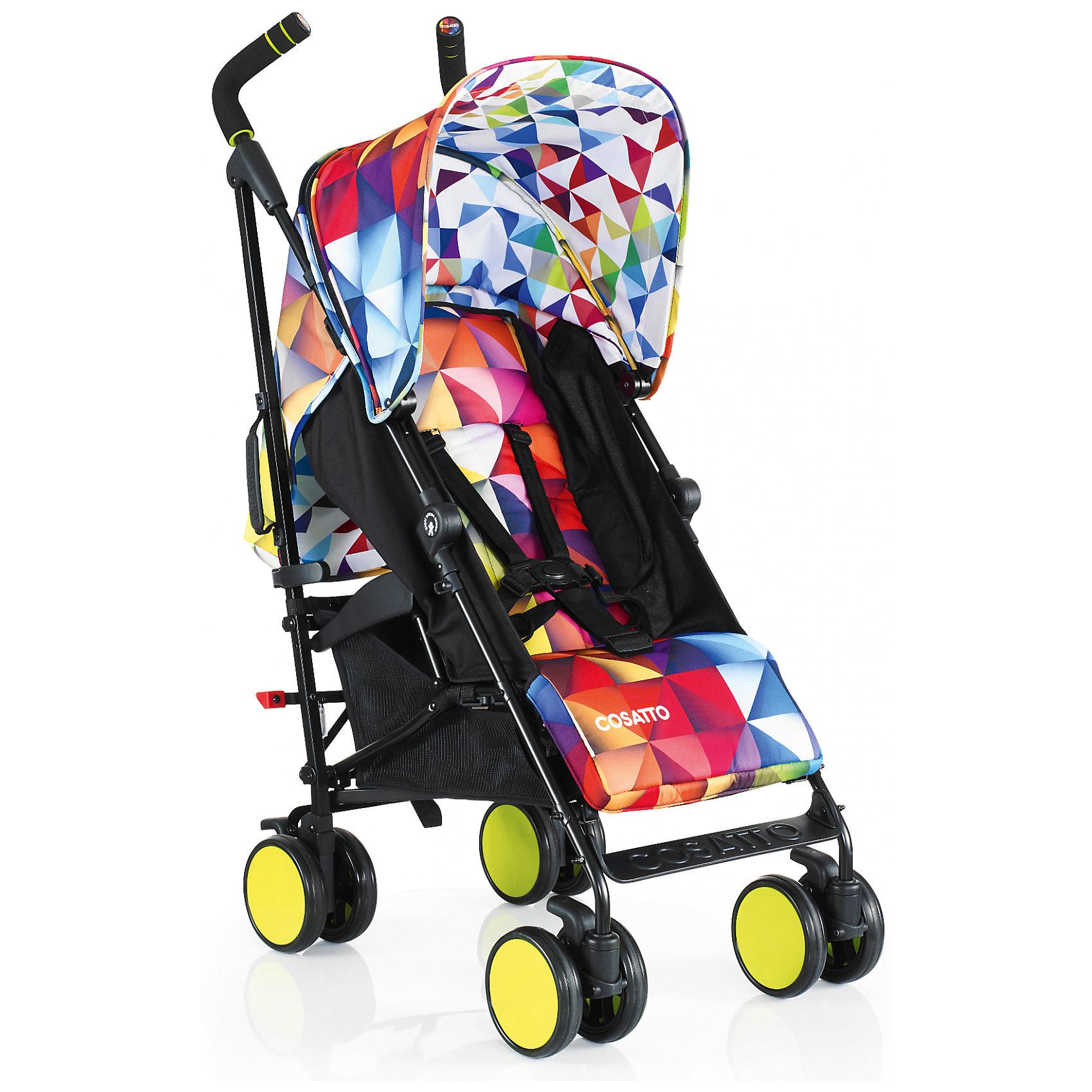 Коляска-трость Cosatto Supa Go, SpectroluxКоляски-трости<br>Стильная коляска станет для родителей не только незаменимой вещью, но и стильным аксессуаром. Функциональность, дизайн и маневренность – все это – новая модель от Cosatto. Все материалы, использованные при изготовлении, безопасны и отвечают требованиям по качеству продукции.<br><br>Дополнительные характеристики: <br><br>возраст: 6 месяцев – 3 года;<br>регулируемый капюшон;<br>механизм складывания: трость;<br>регулировка спинки;<br>ножной тормоз;<br>пятиточечные ремни безопасности;<br>габариты: 78 х 48,5 х 110 см;<br>материал шасси: алюминий;<br>комплектация: дождевик<br><br>ВНИМАНИЕ!!! В комплектацию коляски не входит бампер, его можно купить отдельно.<br><br>Коляску-трость SUPA Go от компании Cosatto можно приобрести в нашем магазине.<br><br>Яркие и стильные расцветки коляски поднимут вам настроение. Регулируемый капюшон и спинка. Без бампера<br><br>Ширина мм: 1120<br>Глубина мм: 280<br>Высота мм: 280<br>Вес г: 12000<br>Возраст от месяцев: 6<br>Возраст до месяцев: 36<br>Пол: Унисекс<br>Возраст: Детский<br>SKU: 5448678