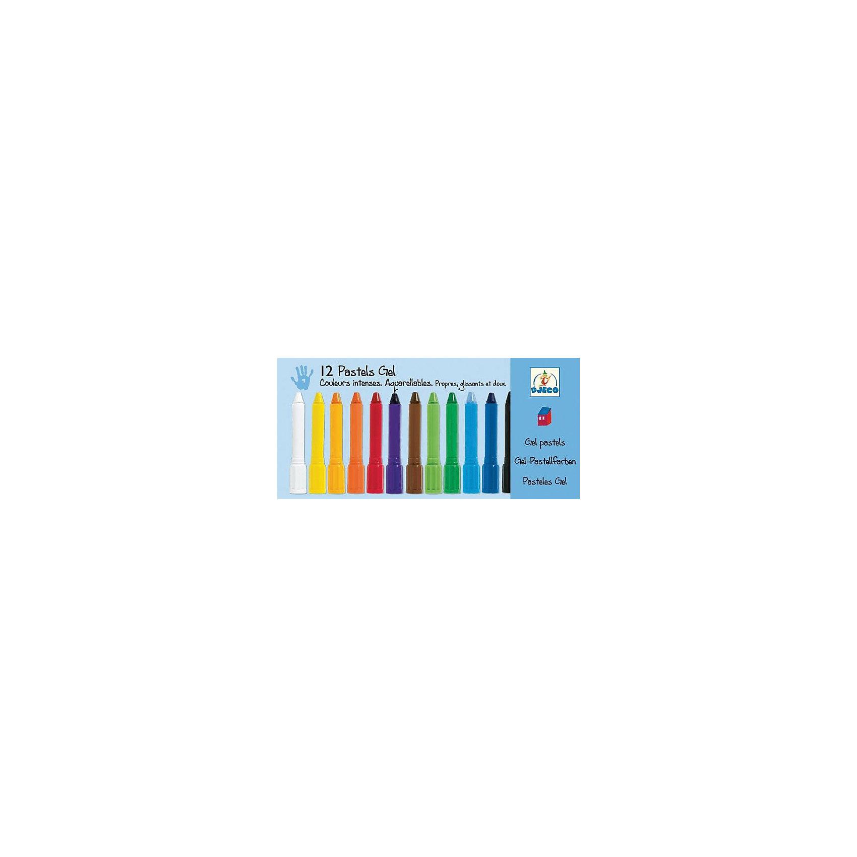 Набор пастельных карандашей, 12 шт., DJECOРисование<br>Характеристики пастельных карандашей:<br><br>• возраст: от 2 лет<br>• пол: универсальный<br>• тип: карандаши<br>• размер упаковки: 11.5 х 25 х 2.2 см.<br>• упаковка: картонная коробка.<br>• бренд: Djeco<br>• страна обладатель бренда: Франция.<br><br>В комплекте 12 пластиковых футляров с гелиевой пастелью ярких цветов в коробочке. Пастельные карандаши легко наносятся на бумагу, создавая гладкие мягкие линии, смешав цвета, можно получить новый оттенок. Благодаря пластиковому футляру с закручивающейся крышечкой, дети не будут пачкать руки. <br><br>Набор пастельных карандашей от торговой марки Djeco (Джеко) можно купить в нашем интернет-магазине.<br><br>Ширина мм: 250<br>Глубина мм: 120<br>Высота мм: 30<br>Вес г: 310<br>Возраст от месяцев: 24<br>Возраст до месяцев: 2147483647<br>Пол: Унисекс<br>Возраст: Детский<br>SKU: 5448806