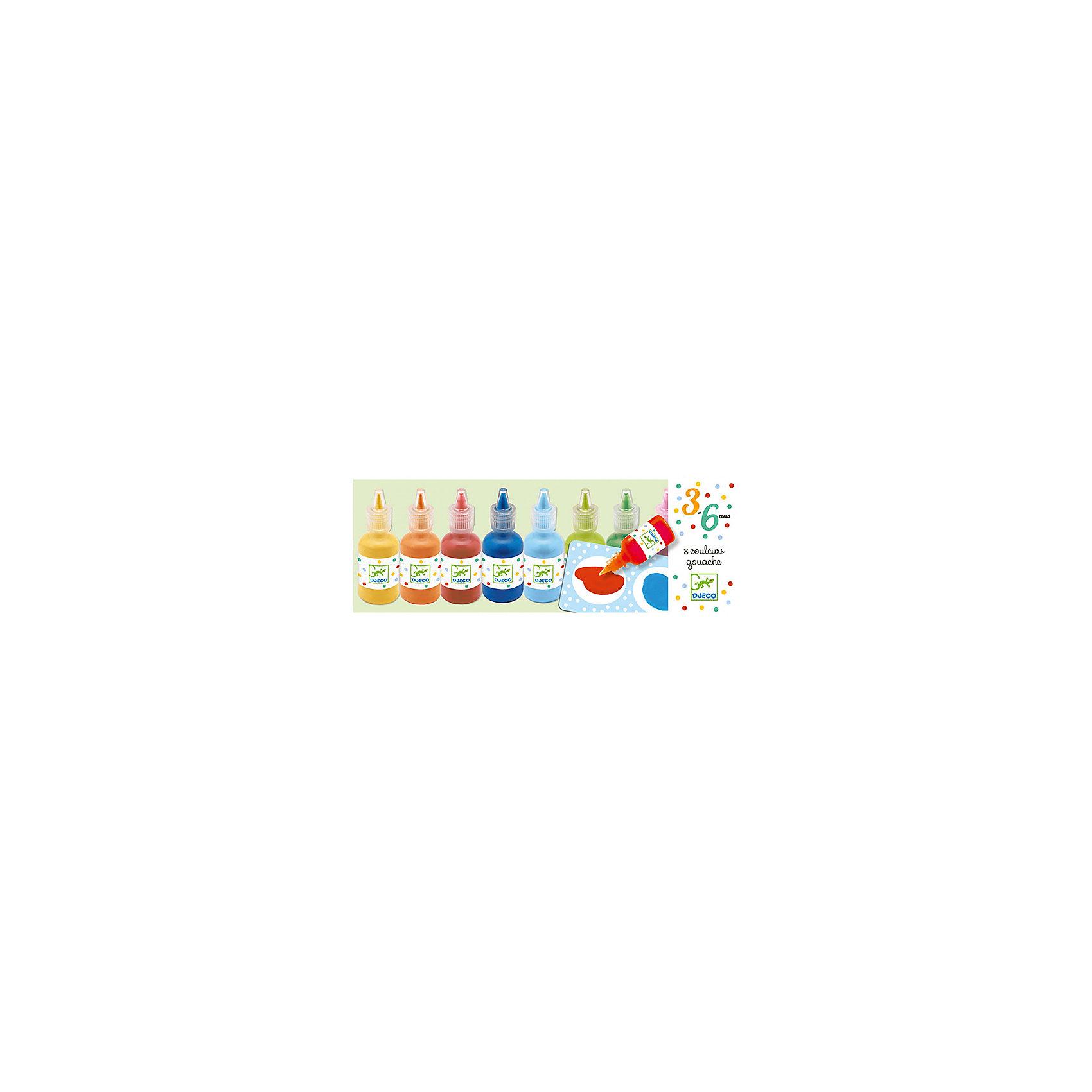 Краски для рисования пальцами, DJECOРисование<br>Характеристики красок для рисования пальцами:<br><br>• возраст: от 1 года<br>• пол: универсальный<br>• комплект: 8 баночек с красками.<br>• состав: резина, пластик<br>• размер упаковки: 25 х 9 см.<br>• упаковка: картонная коробка открытого типа.<br>• бренд: Djeco<br>• страна обладатель бренда: Франция.<br><br>Уже с самых ранних лет дети могут учиться рисовать и развивать воображение благодаря ярким краскам от торговой марки Djeco (Джеко). Краски выполнены из качественных ингредиентов на водной основе, безопасны для здоровья Вашего малыша. <br><br>Краски удобно использовать, они упакованы в прозрачные тюбики с закручивающимися крышечками. Легко поддаются смешиванию, их удобно наносить на бумагу. <br><br>Краски для рисования пальцами от торговой марки Djeco (Джеко) можно купить в нашем интернет-магазине.<br><br>Ширина мм: 260<br>Глубина мм: 109<br>Высота мм: 30<br>Вес г: 538<br>Возраст от месяцев: 36<br>Возраст до месяцев: 2147483647<br>Пол: Унисекс<br>Возраст: Детский<br>SKU: 5448813