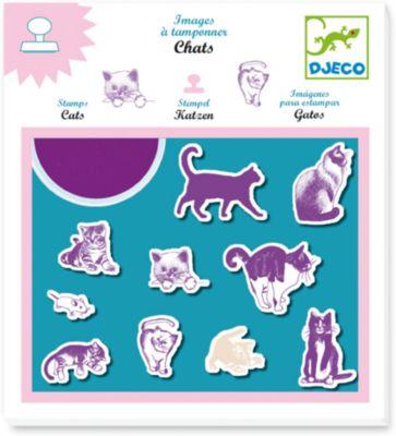 Набор штампов «Кошки», DJECO