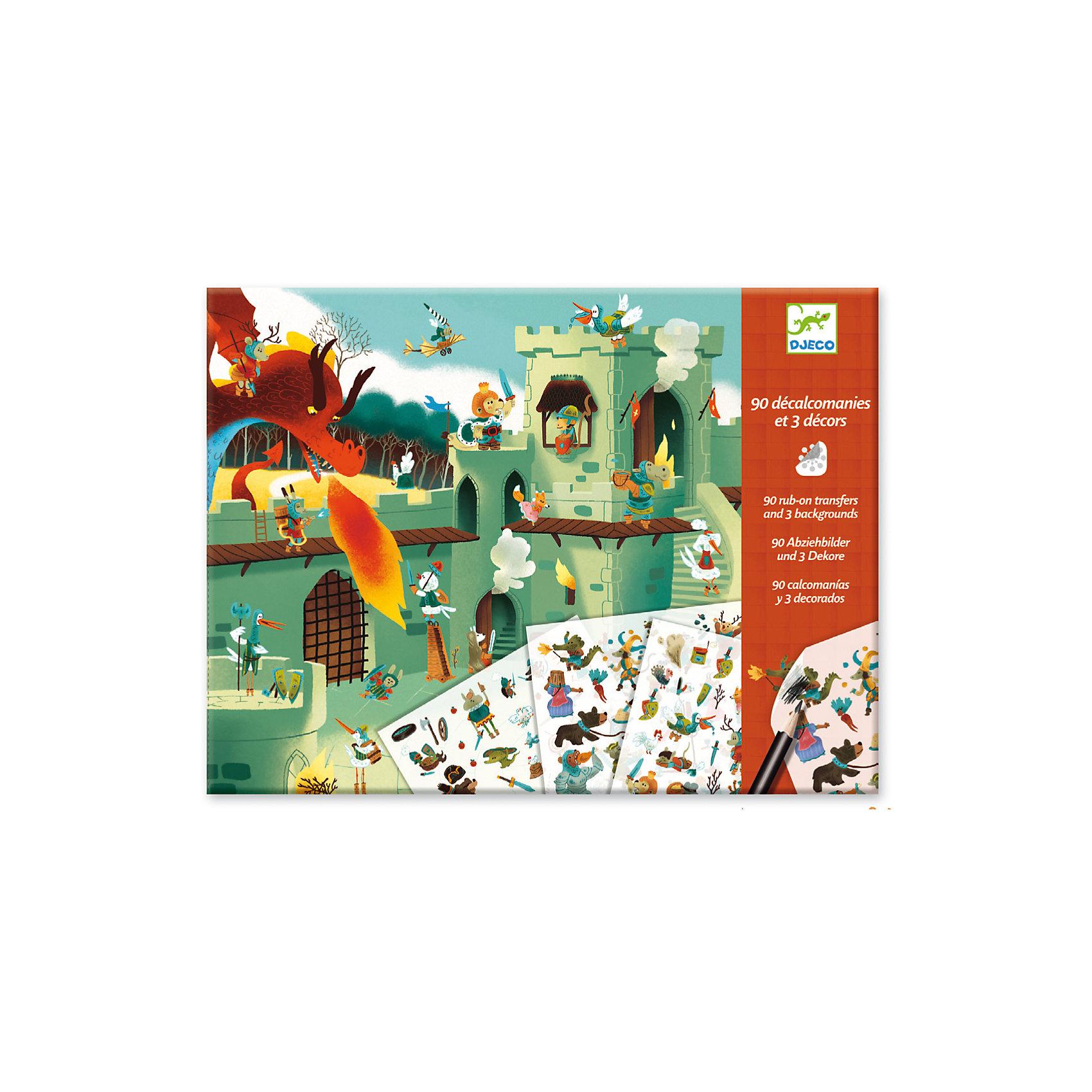 Набор для творчества Средневековые сказки, DJECOРаскраски по номерам<br>Характеристики набора для творчества Средневековые сказки:<br><br>• пол универсальный<br>• возраст: от 4 лет<br>• материал: пластик, бумага<br>• комплект: 3 картинки, 2 листа с переводными картинками <br>• состав набора: 3 мотка шерсти разных цветов (длина мотка 22 метра), магнитное приспособление для изготовления помпонов, множество бусинок, пошаговая инструкция<br>• упаковка: картонный конверт<br>• размер упаковки: 31.5x15x5 см<br>• размер картинки: 21 х29.7 см<br>• размер листа с наклейками: 20х 13 см<br>• бренд: Djeco<br>• страна обладателя бренда: Франция<br><br>Набор для творчества Средневековые сказки от производителя Djeco (Джеко) позволит Вашему ребенку самостоятельно сочинять средневековые истории с помощью красочных переводных наклеек. В комплекте можно найти 3 картинки и два листа с наклейками, которые с легкостью переводятся на бумажную основу. <br><br>К набору также прилагается подробная инструкция с примерами, поэтому у ребенка не возникнет сложностей. Набор способствует развитию творческого мышления, фантазии и воображения.<br><br>Набор для творчества Средневековые сказки торговой марки Djeco (Джеко) можно купить в нашем интернет-магазине.<br><br>Ширина мм: 320<br>Глубина мм: 240<br>Высота мм: 100<br>Вес г: 160<br>Возраст от месяцев: 48<br>Возраст до месяцев: 2147483647<br>Пол: Унисекс<br>Возраст: Детский<br>SKU: 5448817
