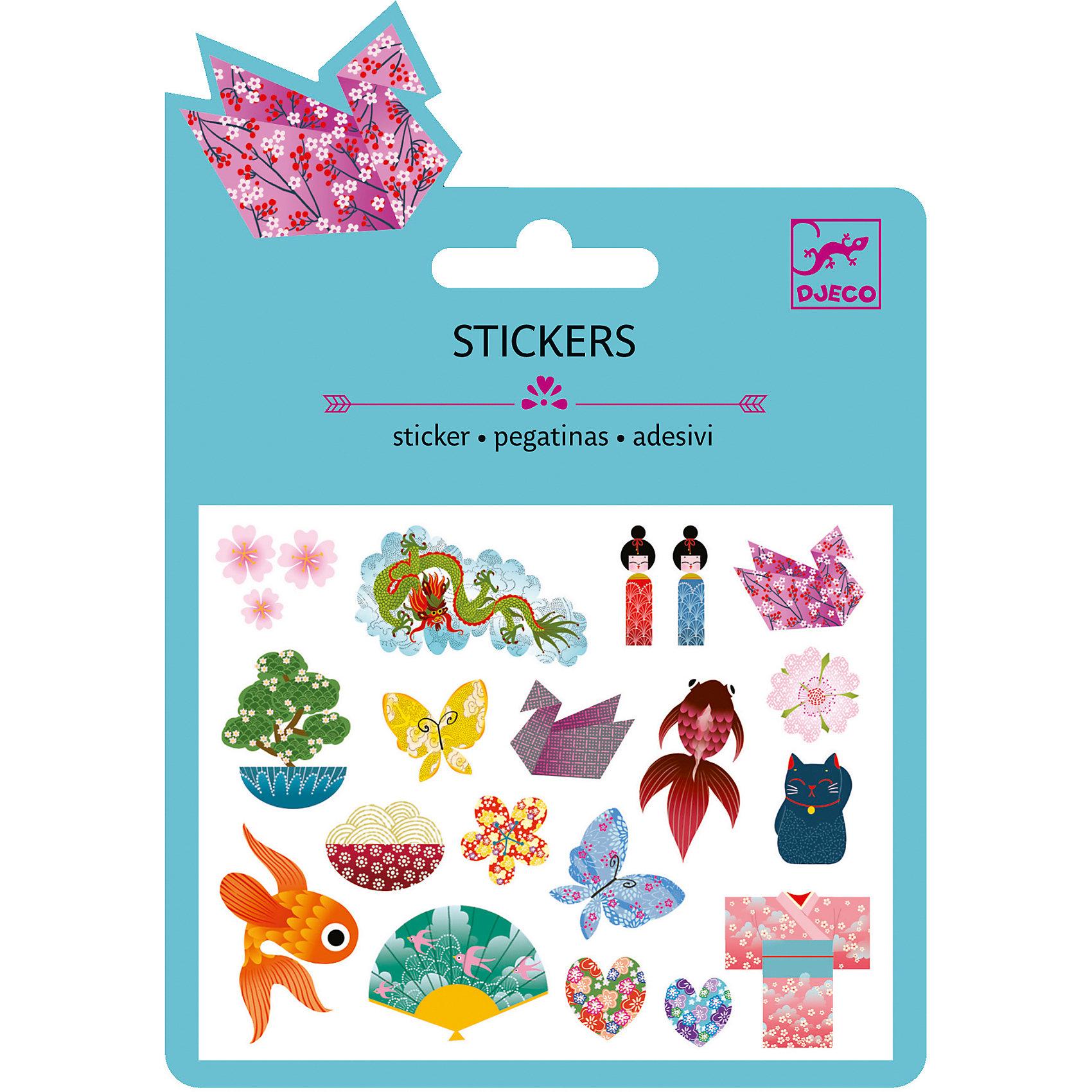 Наклейки Японские мотивы, DJECOХарактеристики наклейки Японские мотивы:<br><br>• возраст: от 3 лет<br>• пол: для девочки<br>• комплект: 1 лист с наклейками.<br>• состав: бумага, полимер.<br>• размер упаковки: 11.5 х 15.5 см.<br>• упаковка: картонная подложка.<br>• бренд: Djeco<br>• страна обладатель бренда: Франция.<br><br>С помощью набора наклеек Японские Мотивы ребенок сможет украсить свои игровые и канцелярские принадлежности множеством изображений, передающих атмосферу страны восходящего солнца. Все наклейки имеют качественную клейкую основу, не будут отлипать от предмета, к которому они приклеены и станут достойными декоративными элементами, которые всегда будут радовать глаз.<br><br>Наклейки Японские мотивы торговой марки Djeco (Джеко) можно купить в нашем интернет-магазине.<br><br>Ширина мм: 110<br>Глубина мм: 160<br>Высота мм: 10<br>Вес г: 10<br>Возраст от месяцев: 36<br>Возраст до месяцев: 2147483647<br>Пол: Женский<br>Возраст: Детский<br>SKU: 5448837