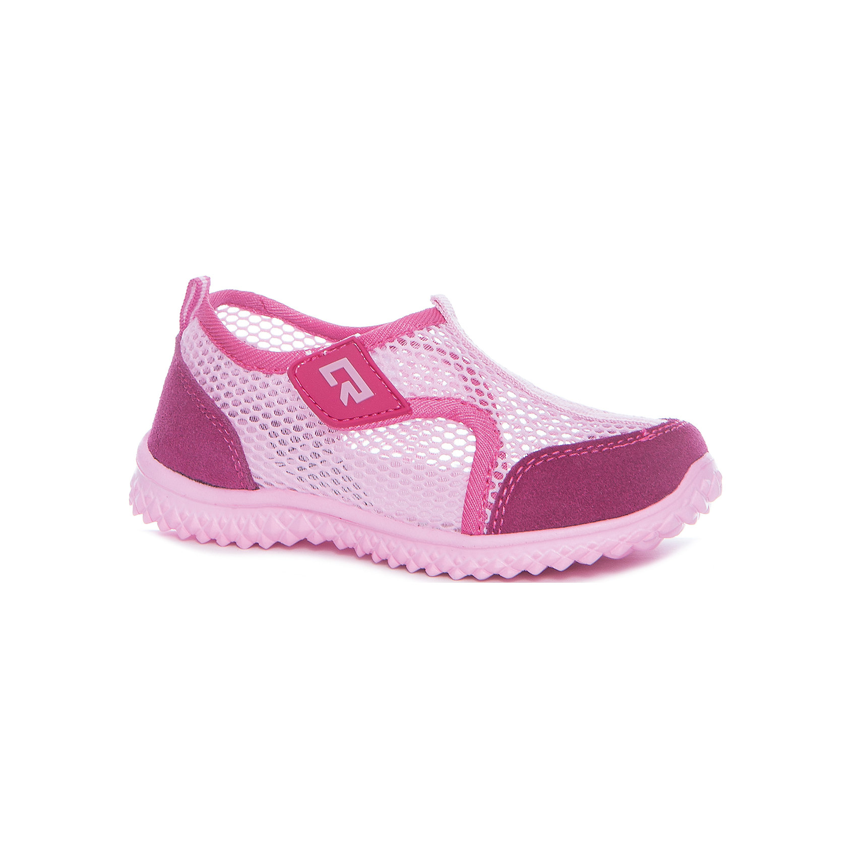 Кроссовки для девочки CROSBY, розовый