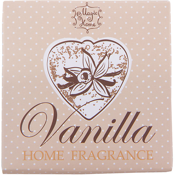 Изделие ароматическое Ваниль , подвесное, Феникс-ПрезентДетские предметы интерьера<br>Изделие ароматическое Ваниль, подвесное, Феникс-Презент<br><br>Характеристики:<br><br>• устраняет неприятные запахи<br>• освежает помещение<br>• подходит для небольших помещений<br>• в комплекте: гипсовая фигурка с ароматом ванили<br>• материал: гипс, текстиль<br>• размер: 11,7х9,5х2,7 см<br><br>Сладкий аромат ванили освежит вашу ванную комнату или гардеробную, придавая им приятный аромат ванили. В набор входит гипсовая фигурка с рельефным изображением. Фигурка имеет удобную подвеску - вы сможете повесить ее в любом удобном месте.<br><br>Изделие ароматическое Ваниль, подвесное, Феникс-Презент можно купить в нашем интернет-магазине.<br><br>Ширина мм: 117<br>Глубина мм: 95<br>Высота мм: 27<br>Вес г: 78<br>Возраст от месяцев: 120<br>Возраст до месяцев: 2147483647<br>Пол: Унисекс<br>Возраст: Детский<br>SKU: 5449503