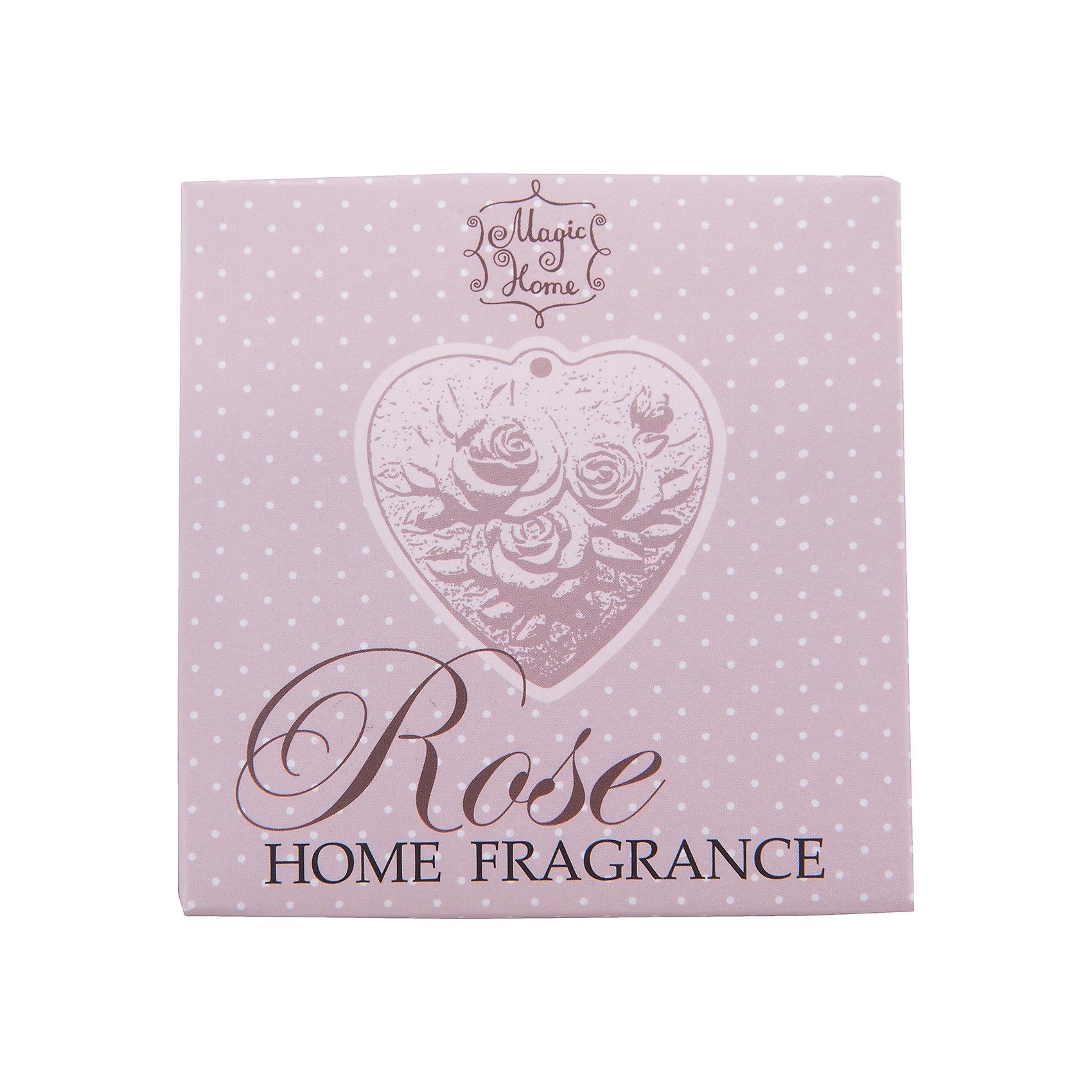 Изделие ароматическое Роза , подвесное, Феникс-ПрезентИзделие ароматическое Роза, подвесное, Феникс-Презент<br><br>Характеристики:<br><br>• устраняет неприятные запахи<br>• освежает помещение<br>• подходит для небольших помещений<br>• в комплекте: гипсовая фигурка с ароматом розы<br>• материал: гипс, текстиль<br>• размер: 11,7х9,5х2,7 см<br><br>Аромат розы освежит вашу ванную комнату или гардеробную, придавая им приятный аромат розы. В набор входит гипсовая фигурка с рельефным изображением розочек. Фигурка имеет удобную подвеску - вы сможете повесить ее в любом удобном месте.<br><br>Изделие ароматическое Роза, подвесное, Феникс-Презент можно купить в нашем интернет-магазине.<br><br>Ширина мм: 117<br>Глубина мм: 95<br>Высота мм: 27<br>Вес г: 78<br>Возраст от месяцев: 120<br>Возраст до месяцев: 2147483647<br>Пол: Унисекс<br>Возраст: Детский<br>SKU: 5449504
