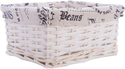 Короб для хранения Газетное ретро , из плетеных ивовых прутьев, Феникс-Презент