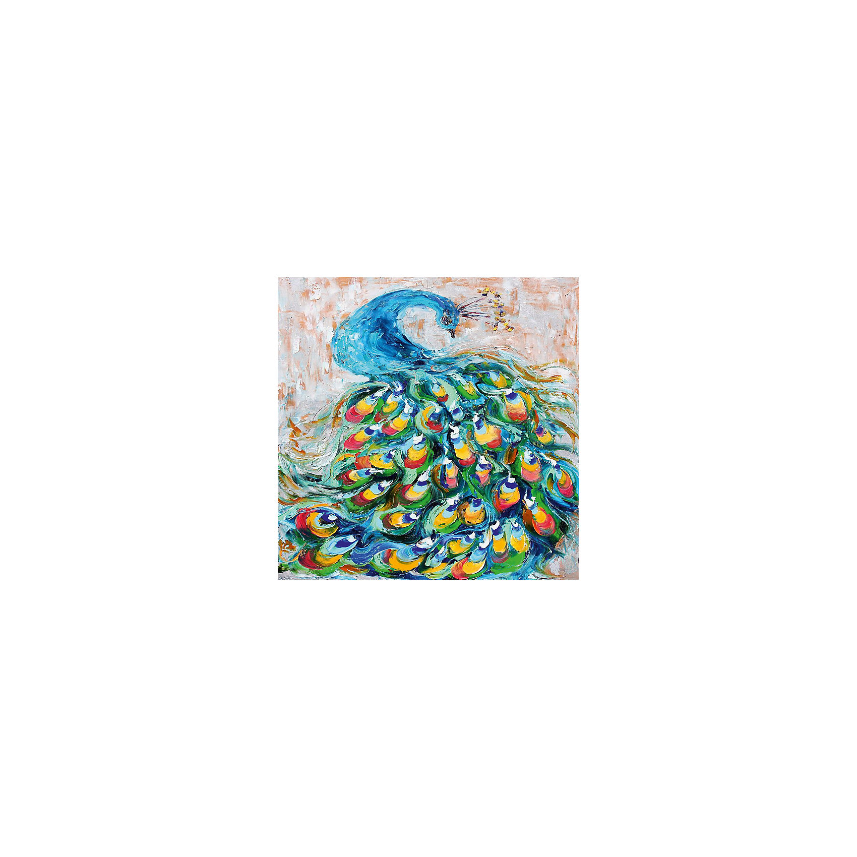 Картина - репродукция Павлин, Феникс-ПрезентПредметы интерьера<br>Картина - репродукция Павлин, Феникс-Презент <br><br>Характеристики:<br><br>• масляная печать на холсте<br>• дополнена ручной подрисовкой<br>• без рамки<br>• размер: 50х50х2,5 см<br><br>Картина-репродукция Павлин - прекрасный подарок для близкого человека. Она отлично впишется в интерьер помещения, добавит гармонии и внесет индивидуальность в атмосферу дома. Масляная печать на холсте дополняет ручная подрисовка красками. Размер картины - 50х50 сантиметров.<br><br>Картина - репродукция Павлин, Феникс-Презент вы можете купить в нашем интернет-магазине.<br><br>Ширина мм: 500<br>Глубина мм: 500<br>Высота мм: 250<br>Вес г: 355<br>Возраст от месяцев: -2147483648<br>Возраст до месяцев: 2147483647<br>Пол: Унисекс<br>Возраст: Детский<br>SKU: 5449543