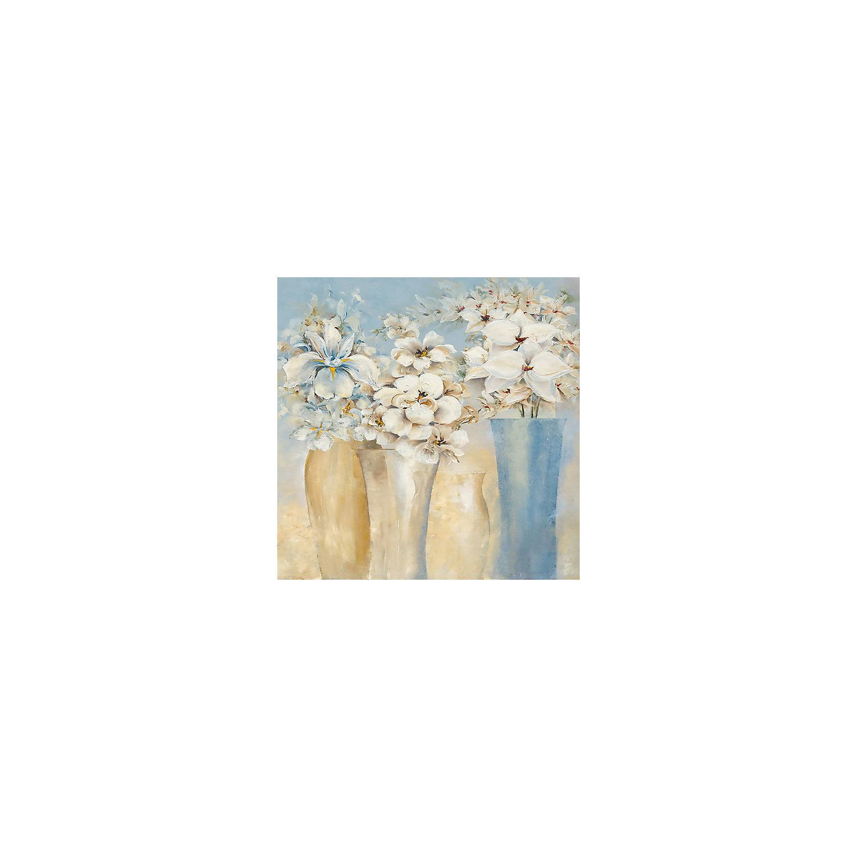 Картина - репродукция Белоснежные мечты, Феникс-ПрезентПредметы интерьера<br>Картина - репродукция Белоснежные мечты, Феникс-Презент <br><br>Характеристики:<br><br>• масляная печать на холсте<br>• дополнена ручной подрисовкой<br>• без рамки<br>• размер: 60х60х2,5 см<br><br>Картина-репродукция - прекрасный подарок для близкого человека. На картине Белоснежные мечты изображены букеты цветов. Масляная печать на холсте дополнена подрисовкой ручной работы. Размер картины - 60х60 сантиметров.<br><br>Картину - репродукцию Белоснежные цветы, Феникс-Презент можно купить в нашем интернет-магазине.<br><br>Ширина мм: 600<br>Глубина мм: 600<br>Высота мм: 250<br>Вес г: 455<br>Возраст от месяцев: -2147483648<br>Возраст до месяцев: 2147483647<br>Пол: Унисекс<br>Возраст: Детский<br>SKU: 5449548