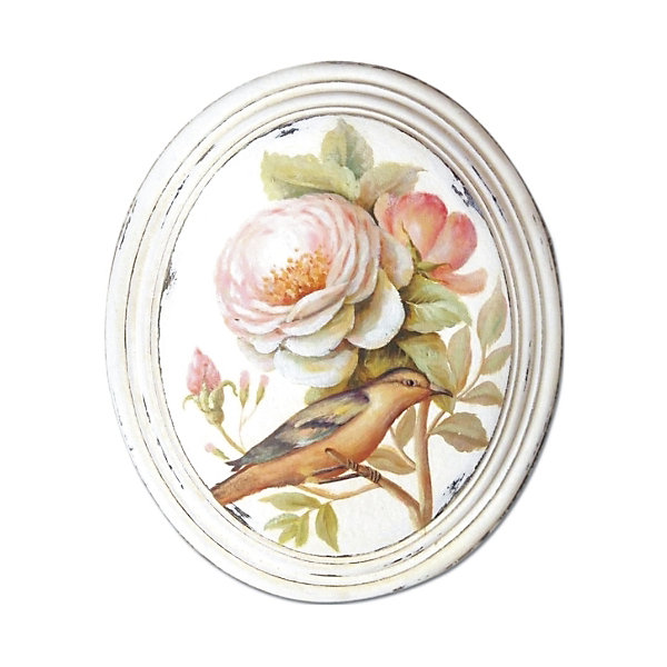 Картина - репродукция Дикая роза, Феникс-ПрезентДетские предметы интерьера<br>Картина - репродукция Дикая роза, Феникс-Презент <br><br>Характеристики:<br><br>• печать на бумаге<br>• дополнена ручной подрисовкой<br>• основа из МДФ<br>• рамка из МДФ<br>• размер: 26,2х31,5х2,8 см<br><br>Красивая картина может не только украсить дом, но и придать индивидуальность интерьеру комнаты. На картине-репродукции Феникс Презент изображена дикая роза и маленькая птичка. Картина выполнена печатью на бумаге с ручной подрисовкой. Основа и рамка изготовлены из МДФ. Размер картины - 26,2х31,5х2,8 сантиметров.<br><br>Картину - репродукцию Дикая роза, Феникс-Презент можно купить в нашем интернет-магазине.<br>Ширина мм: 262; Глубина мм: 310; Высота мм: 580; Вес г: 690; Возраст от месяцев: -2147483648; Возраст до месяцев: 2147483647; Пол: Унисекс; Возраст: Детский; SKU: 5449555;