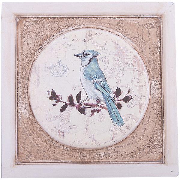 Картина - репродукция Птица, Феникс-ПрезентДетские предметы интерьера<br>Картина - репродукция Птица, Феникс-Презент <br><br>Характеристики:<br><br>• печать на бумаге<br>• дополнена ручной подрисовкой<br>• основа из МДФ<br>• рамка из МДФ<br>• размер: 31х31х1,5 см<br><br>Картина с изображением птицы, сидящей на ветке станет изумительным дополнением к интерьеру комнаты. Основание и рамка картины изготовлены из МДФ. Картина выполнена печатью на бумаге и дополнена ручной подрисовкой. Размер картины - 31х31 сантиметр.<br><br>Картину - репродукцию Птица, Феникс-Презент вы можете купить в нашем интернет-магазине.<br>Ширина мм: 310; Глубина мм: 310; Высота мм: 150; Вес г: 873; Возраст от месяцев: -2147483648; Возраст до месяцев: 2147483647; Пол: Унисекс; Возраст: Детский; SKU: 5449564;