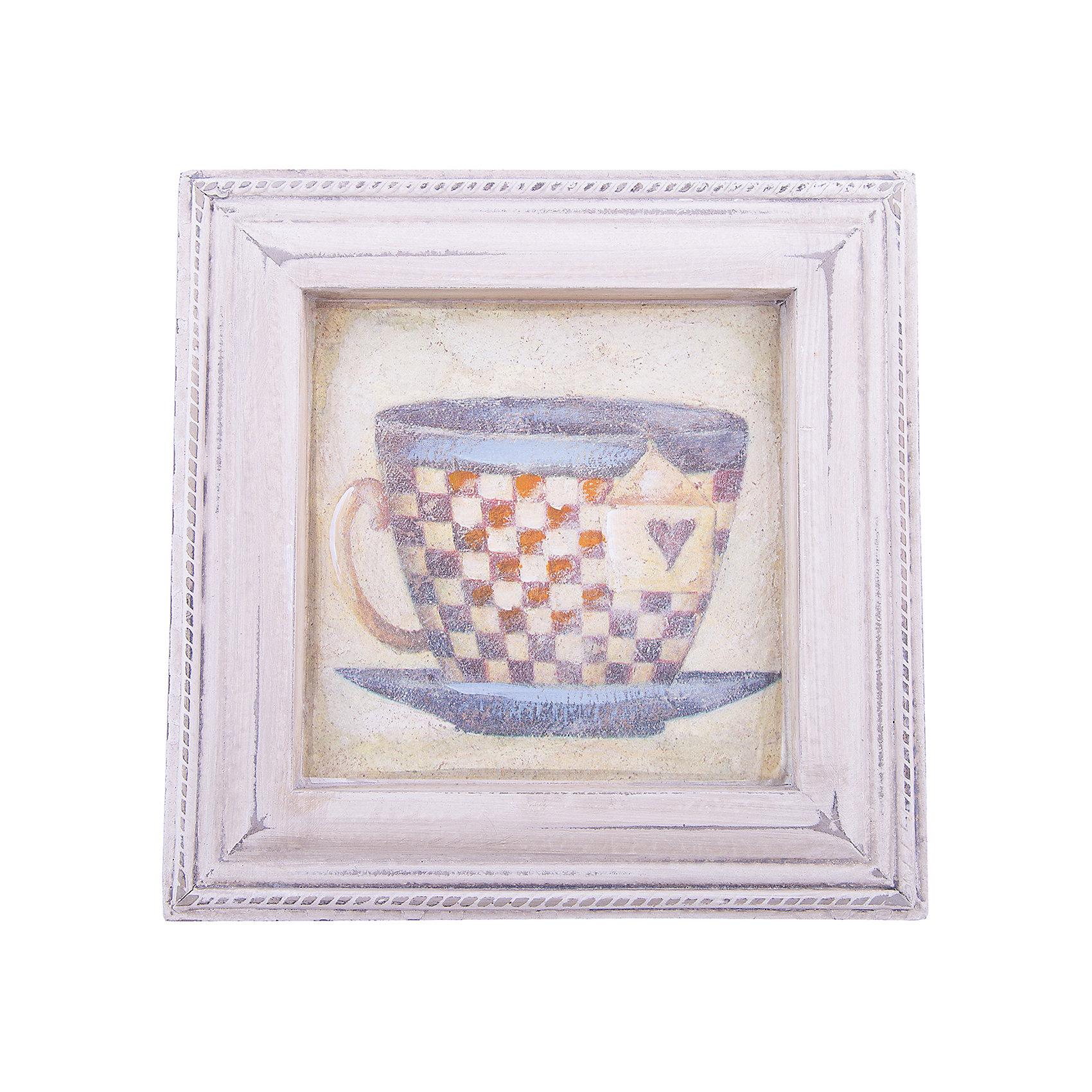 Картина - репродукция Чашка чая, Феникс-ПрезентКартина - репродукция Чашка чая (печать на бумаге с ручной подрисовкой), основа из МДФ, рамка из МДФ.  Картина прекрасно впишется  в любой интерьер, хороший подарок для любого случая.<br><br>Ширина мм: 235<br>Глубина мм: 235<br>Высота мм: 200<br>Вес г: 446<br>Возраст от месяцев: -2147483648<br>Возраст до месяцев: 2147483647<br>Пол: Унисекс<br>Возраст: Детский<br>SKU: 5449570