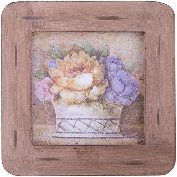 Картина - репродукция Корзинка с цветами, Феникс-ПрезентДетские предметы интерьера<br>Картина - репродукция Корзинка с цветами, Феникс-Презент <br><br>Характеристики:<br><br>• печать на бумаге<br>• дополнена ручной подрисовкой<br>• основа из МДФ<br>• рамка из МДФ<br>• размер: 20,3х20,3х1,5 см<br><br>Корзинка с цветами - отличный подарок для любителей оригинальных картин. Красивый рисунок и необычная рамка приятно дополнят интерьер комнаты. Картина выполнена печатью на бумаге с ручной подрисовкой. Основание и рамка изготовлены из МДФ.<br><br>Картину - репродукцию Корзинка с цветами, Феникс-Презент вы можете купить в нашем интернет-магазине.<br>Ширина мм: 203; Глубина мм: 203; Высота мм: 150; Вес г: 340; Возраст от месяцев: -2147483648; Возраст до месяцев: 2147483647; Пол: Унисекс; Возраст: Детский; SKU: 5449572;