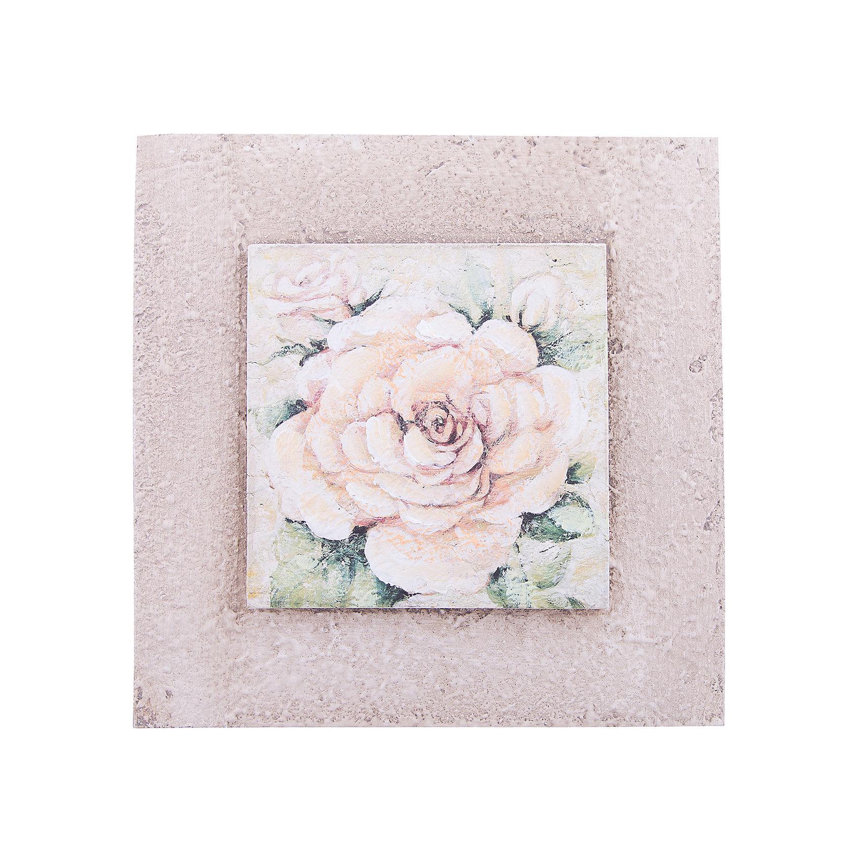 Картина - репродукция Белая роза, Феникс-ПрезентПредметы интерьера<br>Картина - репродукция Белая роза, Феникс-Презент <br><br>Характеристики:<br><br>• печать на бумаге<br>• дополнена ручной подрисовкой<br>• основа из МДФ<br>• рамка из МДФ<br>• размер: 25х25х3,5 см<br><br>Картина-репродукция Белая роза хорошо впишется в интерьер любой комнаты и станет ее украшением. На картине изображена роза, которая отлично сочетается с оригинальной рамкой. Основание и рамка изготовлены из МДФ. Картина выполнена печатью на бумаге с ручной подрисовкой.<br><br>Картину - репродукцию Белая роза, Феникс-Презент вы можете купить в нашем интернет-магазине.<br><br>Ширина мм: 250<br>Глубина мм: 250<br>Высота мм: 350<br>Вес г: 598<br>Возраст от месяцев: -2147483648<br>Возраст до месяцев: 2147483647<br>Пол: Унисекс<br>Возраст: Детский<br>SKU: 5449573