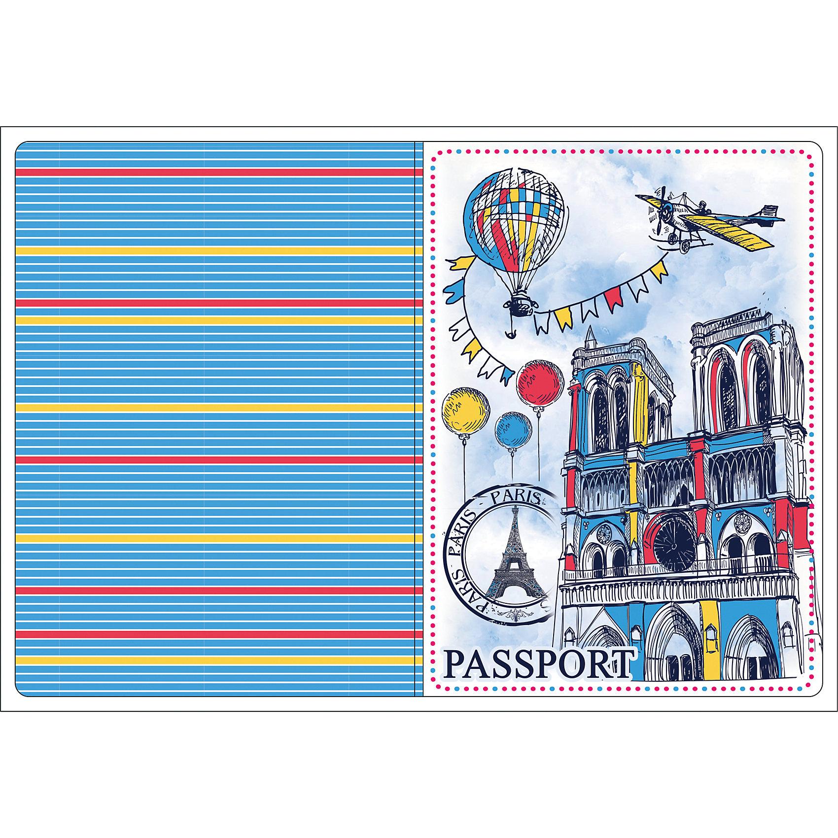 """Обложка для паспорта """"Нотр-Дам"""", Феникс-Презент от myToys"""