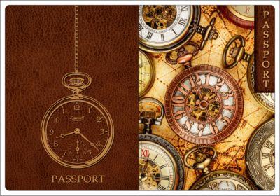 Обложка для паспорта Хронографы , Феникс-Презент
