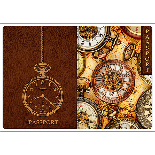 Обложка для паспорта Хронографы, Феникс-ПрезентВ дорогу<br>Обложка для паспорта Хронографы, Феникс-Презент<br><br>Характеристики:<br><br>• оригинальный дизайн<br>• высокая прочность<br>• размер: 13,3х19,1 см<br>• материал: ПВХ<br><br>Оригинальная обложка для паспорта всегда будет радовать вас своей красотой. Кроме того, она подойдет в качестве подарка. Обложка Хронографы изготовлена из качественного прочного ПВХ, устойчивого к износу. На обложке изображены различные часы с хронографами.<br><br>Обложку для паспорта Хронографы, Феникс-Презент вы можете купить в нашем интернет-магазине.<br>Ширина мм: 133; Глубина мм: 191; Высота мм: 50; Вес г: 31; Возраст от месяцев: 168; Возраст до месяцев: 2147483647; Пол: Унисекс; Возраст: Детский; SKU: 5449584;