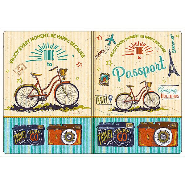 Обложка для паспорта Тревел байк, Феникс-ПрезентОбложки на паспорт<br>Обложка для паспорта Тревел байк, Феникс-Презент<br><br>Характеристики:<br><br>• оригинальный дизайн<br>• высокая прочность<br>• размер: 13,3х19,1 см<br>• материал: ПВХ<br><br>Оригинальная обложка для паспорта всегда будет радовать вас своей красотой. Кроме того, она подойдет в качестве подарка. Обложка Тревел байк изготовлена из качественного прочного ПВХ, устойчивого к износу. На обложке изображены велосипеды и фотоаппараты - всё необходимое для спортивного путешествия..<br><br>Обложку для паспорта Тревел байк, Феникс-Презент вы можете купить в нашем интернет-магазине.<br>Ширина мм: 133; Глубина мм: 191; Высота мм: 50; Вес г: 31; Возраст от месяцев: 168; Возраст до месяцев: 2147483647; Пол: Унисекс; Возраст: Детский; SKU: 5449588;