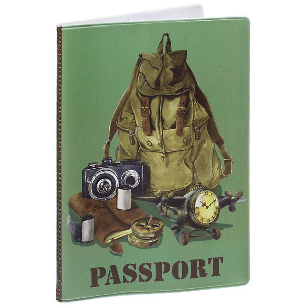 Обложка для паспорта Рюкзак путешественника, Феникс-ПрезентОбложки на паспорт<br>Обложка для паспорта Рюкзак путешественника, Феникс-Презент<br><br>Характеристики:<br><br>• оригинальный дизайн<br>• высокая прочность<br>• размер: 13,3х19,1 см<br>• материал: ПВХ<br><br>Обложка Рюкзак путешественника надежно защитит ваш паспорт от механических воздействий. Она выполнена из качественного поливинилхлорида, устойчивого к износу. На обложке изображен рюкзак с принадлежностями путешественника. Практичная и оригинальная обложка станет отличным подарком!<br><br>Обложку для паспорта Рюкзак путешественника, Феникс-Презент можно купить в нашем интернет-магазине.<br>Ширина мм: 133; Глубина мм: 191; Высота мм: 50; Вес г: 35; Возраст от месяцев: 168; Возраст до месяцев: 2147483647; Пол: Унисекс; Возраст: Детский; SKU: 5449597;