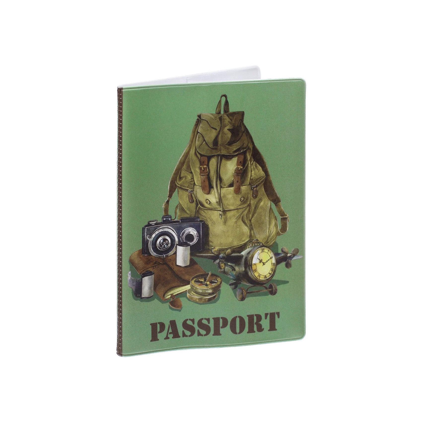 Обложка для паспорта Рюкзак путешественника, Феникс-ПрезентВ дорогу<br>Обложка для паспорта Рюкзак путешественника, Феникс-Презент<br><br>Характеристики:<br><br>• оригинальный дизайн<br>• высокая прочность<br>• размер: 13,3х19,1 см<br>• материал: ПВХ<br><br>Обложка Рюкзак путешественника надежно защитит ваш паспорт от механических воздействий. Она выполнена из качественного поливинилхлорида, устойчивого к износу. На обложке изображен рюкзак с принадлежностями путешественника. Практичная и оригинальная обложка станет отличным подарком!<br><br>Обложку для паспорта Рюкзак путешественника, Феникс-Презент можно купить в нашем интернет-магазине.<br><br>Ширина мм: 133<br>Глубина мм: 191<br>Высота мм: 50<br>Вес г: 35<br>Возраст от месяцев: 168<br>Возраст до месяцев: 2147483647<br>Пол: Унисекс<br>Возраст: Детский<br>SKU: 5449597