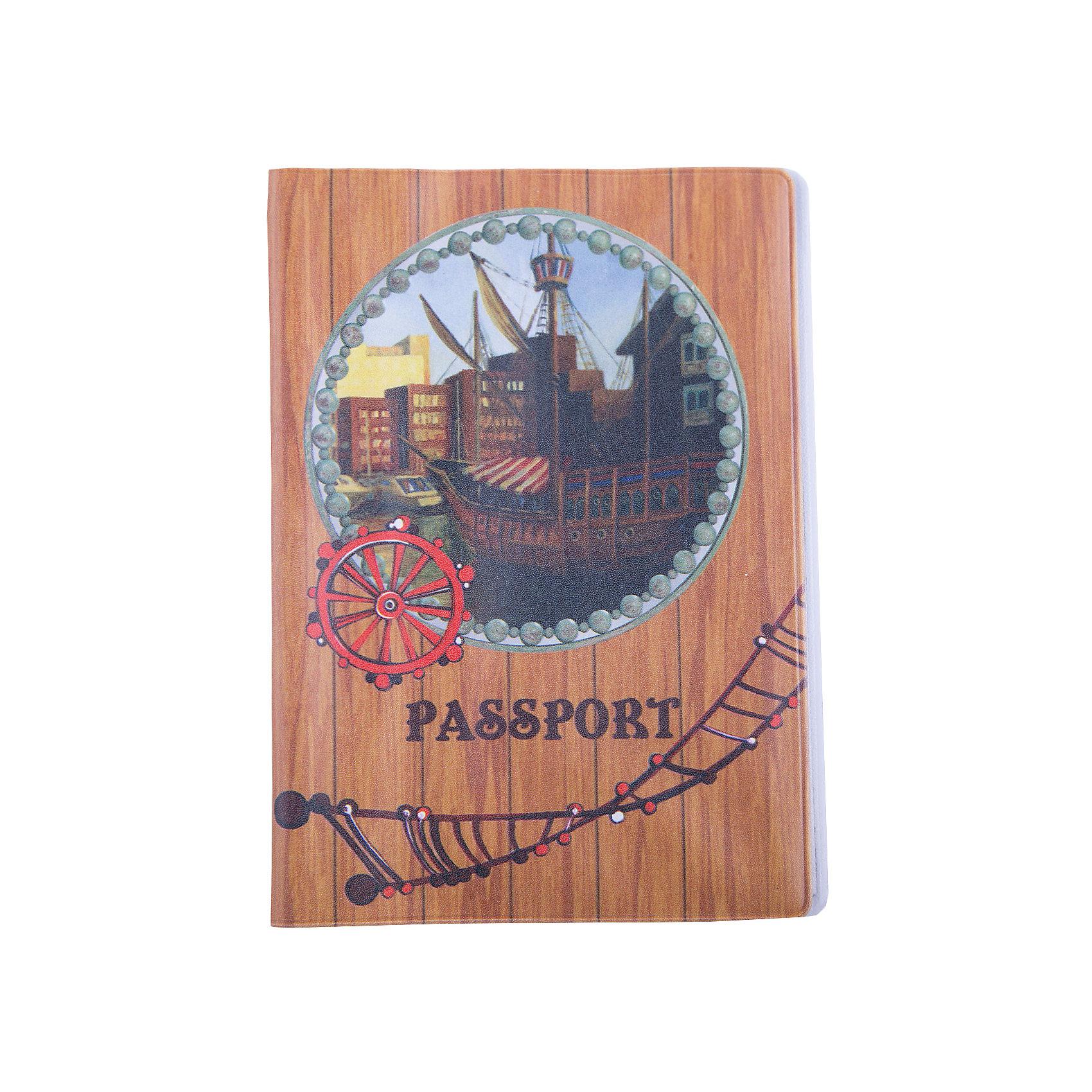 Обложка для паспорта На палубе, Феникс-ПрезентВ дорогу<br>Обложка для паспорта На палубе, Феникс-Презент <br><br>Характеристики:<br><br>• оригинальный дизайн<br>• высокая прочность<br>• размер: 13,3х19,1 см<br>• материал: ПВХ<br><br>Для защиты документов от намокания, истирания и других повреждений необходимо выбрать прочную обложку. Обложка На палубе изготовлена из качественного поливинилхлорида, устойчивого к износу. На обложке изображен старинный корабль. Качественная обложка с оригинальным дизайном подчеркнет индивидуальность и поднимет настроение.<br><br>Обложку для паспорта На палубе, Феникс-Презент вы можете купить в нашем интернет-магазине.<br><br>Ширина мм: 133<br>Глубина мм: 191<br>Высота мм: 50<br>Вес г: 35<br>Возраст от месяцев: 168<br>Возраст до месяцев: 2147483647<br>Пол: Унисекс<br>Возраст: Детский<br>SKU: 5449600