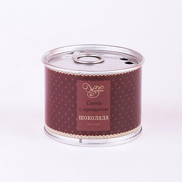 Свеча декоративная ароматизированная парафиновая с ароматом шоколада, Феникс-ПрезентНовогодние свечи и подсвечники<br>Свеча декоративная ароматизированная парафиновая с ароматом шоколада, Феникс-Презент<br><br>Характеристики:<br><br>• оригинальная упаковка<br>• насыщенный аромат<br>• размер: 6,7х6,4х5,1 см<br>• аромат: шоколад<br>• материал: парафин, металл<br><br>Свеча с ароматом шоколада наполнит вашу комнату приятным ароматом и озарит ее красивым сиянием. Свеча упакована в жестяную банку. Это защитит поверхность стола или тумбы от излишних загрязнений. Красивое свечение и насыщенный аромат добавят гармонии и уюта в атмосферу вашей комнаты.<br><br>Свечу декоративную ароматизированную парафиновую с ароматом шоколада, Феникс-Презент<br><br>Ширина мм: 40<br>Глубина мм: 60<br>Высота мм: 60<br>Вес г: 88<br>Возраст от месяцев: 168<br>Возраст до месяцев: 2147483647<br>Пол: Унисекс<br>Возраст: Детский<br>SKU: 5449619