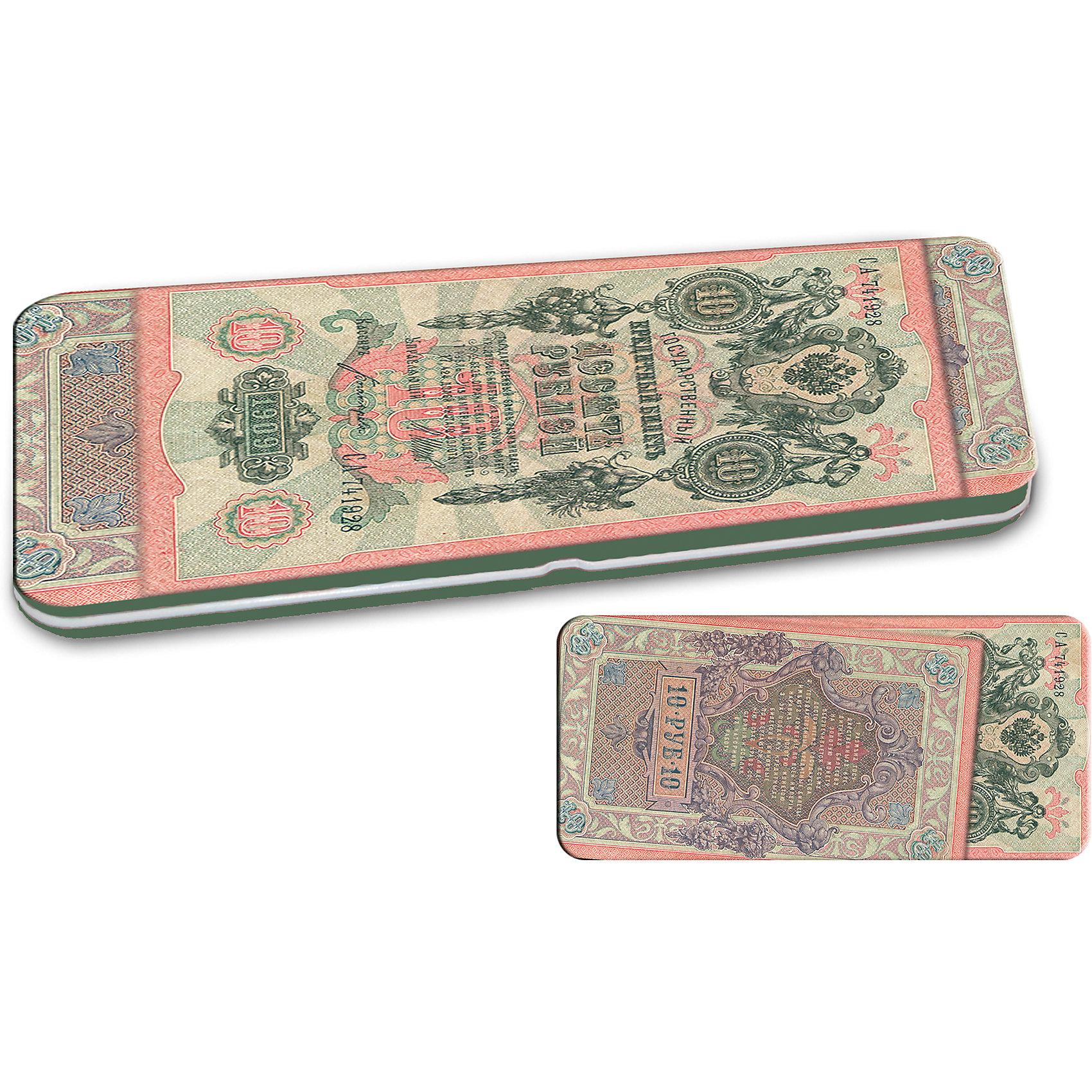 Конверт подарочный металлический для денег