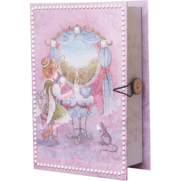 Коробка подарочная Вошебное чаепитие, Феникс-ПрезентДетские подарочные коробки<br>Коробка подарочная Волшебное чаепитие, Феникс-Презент<br><br>Характеристики:<br><br>• яркий дизайн<br>• застегивается на пуговицу<br>• рисунок с внутренней и наружной стороны<br>• изготовлена из мелованного, ламинированного негофрированного картона<br>• плотность: 1100 г/м2<br>• размер: 18х12х5 см<br><br>Красивая подарочная коробка - отличное дополнение к подарку. Подарочная коробка Волшебное чаепитие изготовлена из плотного ламинированного картона, декорированного ярким рисунком с наружной и внутренней стороны. Застегивается на пуговицу. Подарочная коробка сделает подарок еще эффектнее!<br><br>Коробку подарочную Волшебное чаепитие, Феникс-Презент вы можете купить в нашем интернет-магазине.<br><br>Ширина мм: 180<br>Глубина мм: 120<br>Высота мм: 50<br>Вес г: 113<br>Возраст от месяцев: 36<br>Возраст до месяцев: 2147483647<br>Пол: Унисекс<br>Возраст: Детский<br>SKU: 5449635