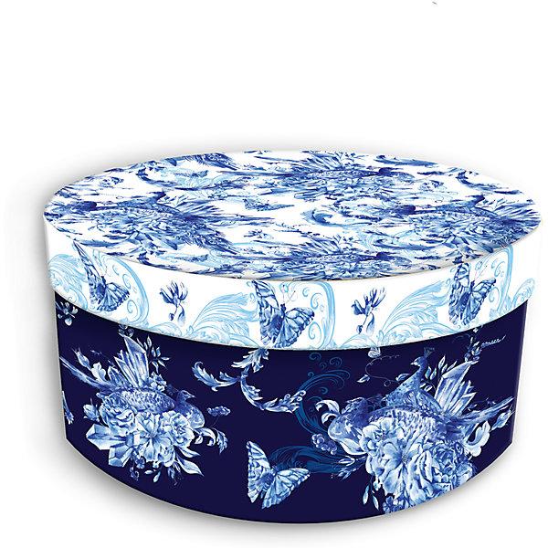 Коробка подарочная Голубые цветы, 14х14х7см., Феникс-ПрезентДетские подарочные коробки<br>Коробка подарочная Голубые цветы, 14х14х7см., Феникс-Презент<br><br>Характеристики:<br><br>• подарочная коробка с крышкой<br>• оригинальный дизайн<br>• изготовлена из мелованного ламинированного картона<br>• плотность 1100 г/м2<br>• рисунок на внутренней и наружной стороне<br>• размер: 14х14х7 см<br><br>Красивая подарочная коробка подарит массу положительных эмоций и создаст праздничное настроение. Коробка Голубые цветы изготовлена из плотного ламинированного картона. Наружная сторона оформлена ярким цветочным узором голубого оттенка. Изделие имеет круглую форму, закрывается с помощью крышки. Такой подарок не оставит получателя равнодушным!<br><br>Коробка подарочная Голубые цветы, 14х14х7см., Феникс-Презент вы можете купить в нашем интернет-магазине.<br><br>Ширина мм: 140<br>Глубина мм: 140<br>Высота мм: 70<br>Вес г: 60<br>Возраст от месяцев: 36<br>Возраст до месяцев: 2147483647<br>Пол: Унисекс<br>Возраст: Детский<br>SKU: 5449638