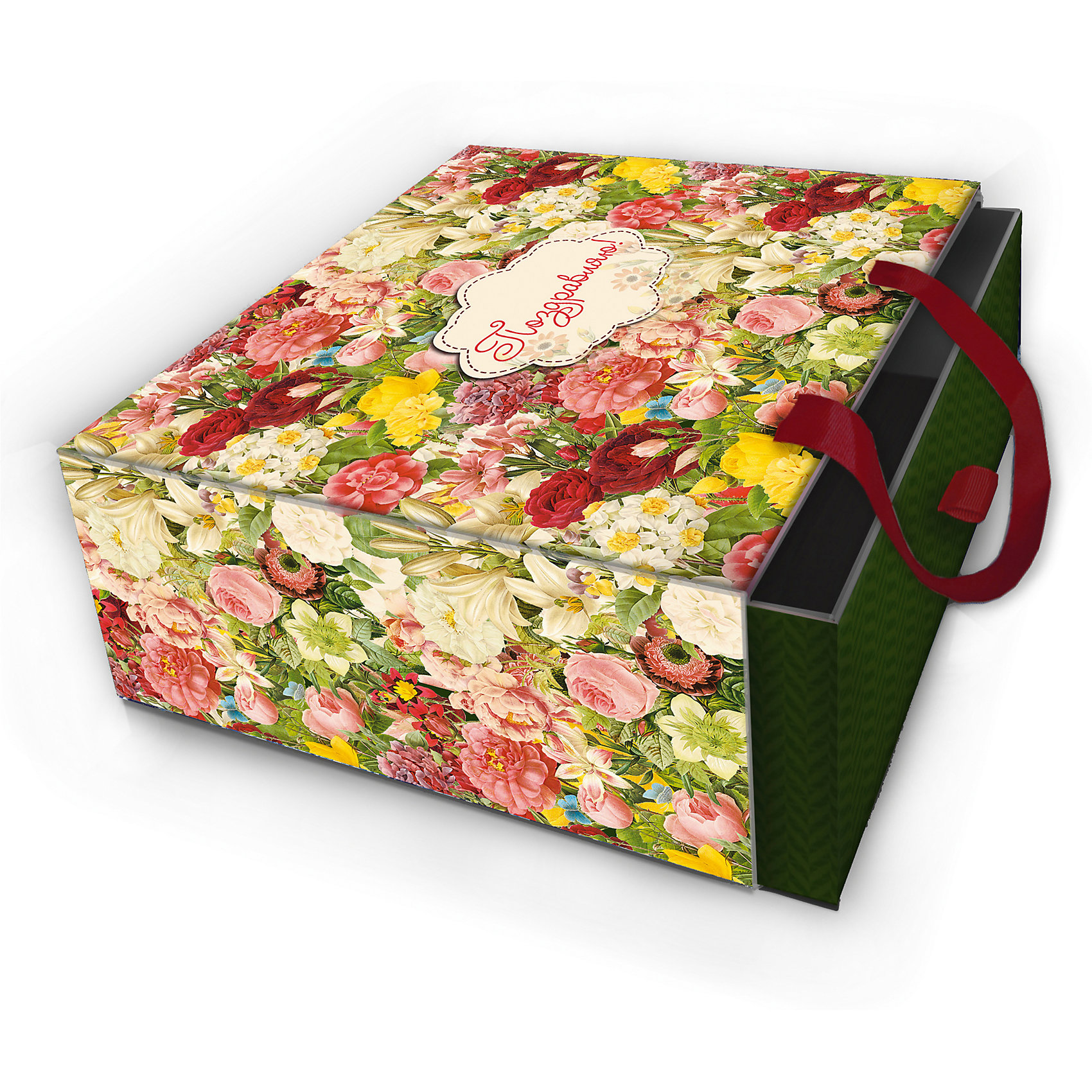 Коробка подарочная Райский сад, 16х16х8см., Феникс-ПрезентПредметы интерьера<br>Коробка подарочная Райский сад, 16х16х8см., Феникс-Презент<br><br>Характеристики:<br><br>• оригинальный дизайн<br>• удобные ручки на внешней стороне<br>• петелька на внутренней части<br>• размер: 16х16х8 см<br>• материал: ламинированный картон, текстиль<br><br>Если вы хотите добавить подарку оригинальности - используйте необычную подарочную коробку. Коробка Райский сад изготовлена из прочного ламинированного картона. Она состоит из двух частей. Внутренняя часть вставляется в наружную. На внутренней части есть небольшая петелька, с помощью которой получатель с легкостью достанет подарок. Наружная часть имеет две красивые ручки для удобства переноски. Коробка оформлена ярким изображением цветов.<br><br>Коробку подарочную Райский сад, 16х16х8см., Феникс-Презент можно купить в нашем интернет-магазине.<br><br>Ширина мм: 160<br>Глубина мм: 160<br>Высота мм: 80<br>Вес г: 121<br>Возраст от месяцев: 36<br>Возраст до месяцев: 2147483647<br>Пол: Унисекс<br>Возраст: Детский<br>SKU: 5449639