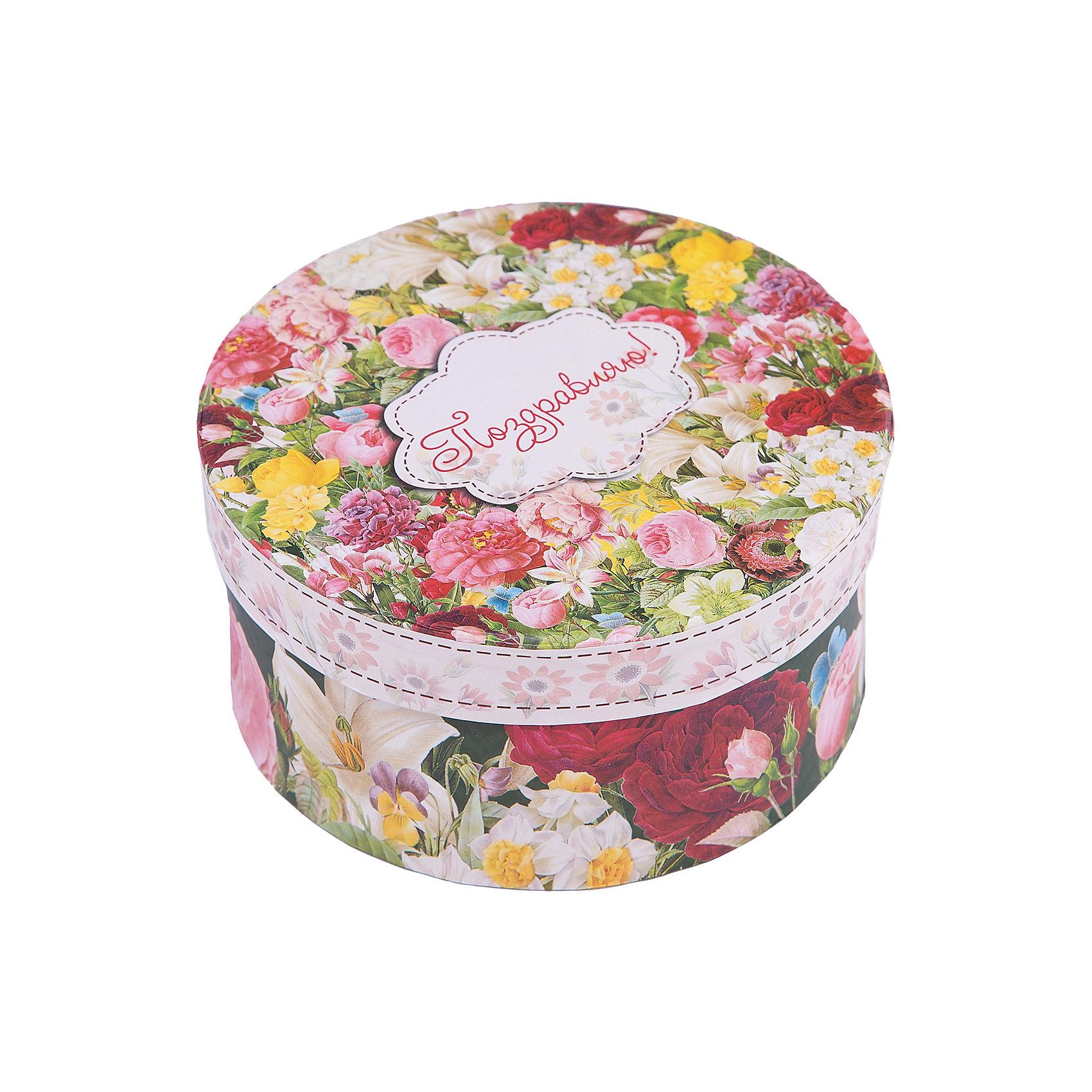 Коробка подарочная Райский сад, 14х14х7см., Феникс-ПрезентПредметы интерьера<br>Коробка подарочная Райский сад, 14х14х7см., Феникс-Презент<br><br>Характеристики:<br><br>• подарочная коробка с крышкой<br>• оригинальный дизайн<br>• изготовлена из мелованного ламинированного картона<br>• плотность 1100 г/м2<br>• рисунок на внутренней и наружной стороне<br>• размер: 14х14х7 см<br><br>Красивая подарочная коробка подарит массу положительных эмоций и создаст праздничное настроение. Коробка Райский сад изготовлена из плотного ламинированного картона. Наружная сторона оформлена ярким цветочным узором. Изделие имеет круглую форму, закрывается с помощью крышки. Такой подарок не оставит получателя равнодушным!<br><br>Коробка подарочная Райский сад, 14х14х7см., Феникс-Презент вы можете купить в нашем интернет-магазине.<br><br>Ширина мм: 140<br>Глубина мм: 140<br>Высота мм: 70<br>Вес г: 60<br>Возраст от месяцев: 36<br>Возраст до месяцев: 2147483647<br>Пол: Унисекс<br>Возраст: Детский<br>SKU: 5449641