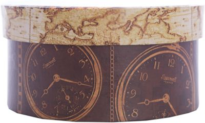 Коробка подарочная Хронографы , 14х14х7см., Феникс-Презент
