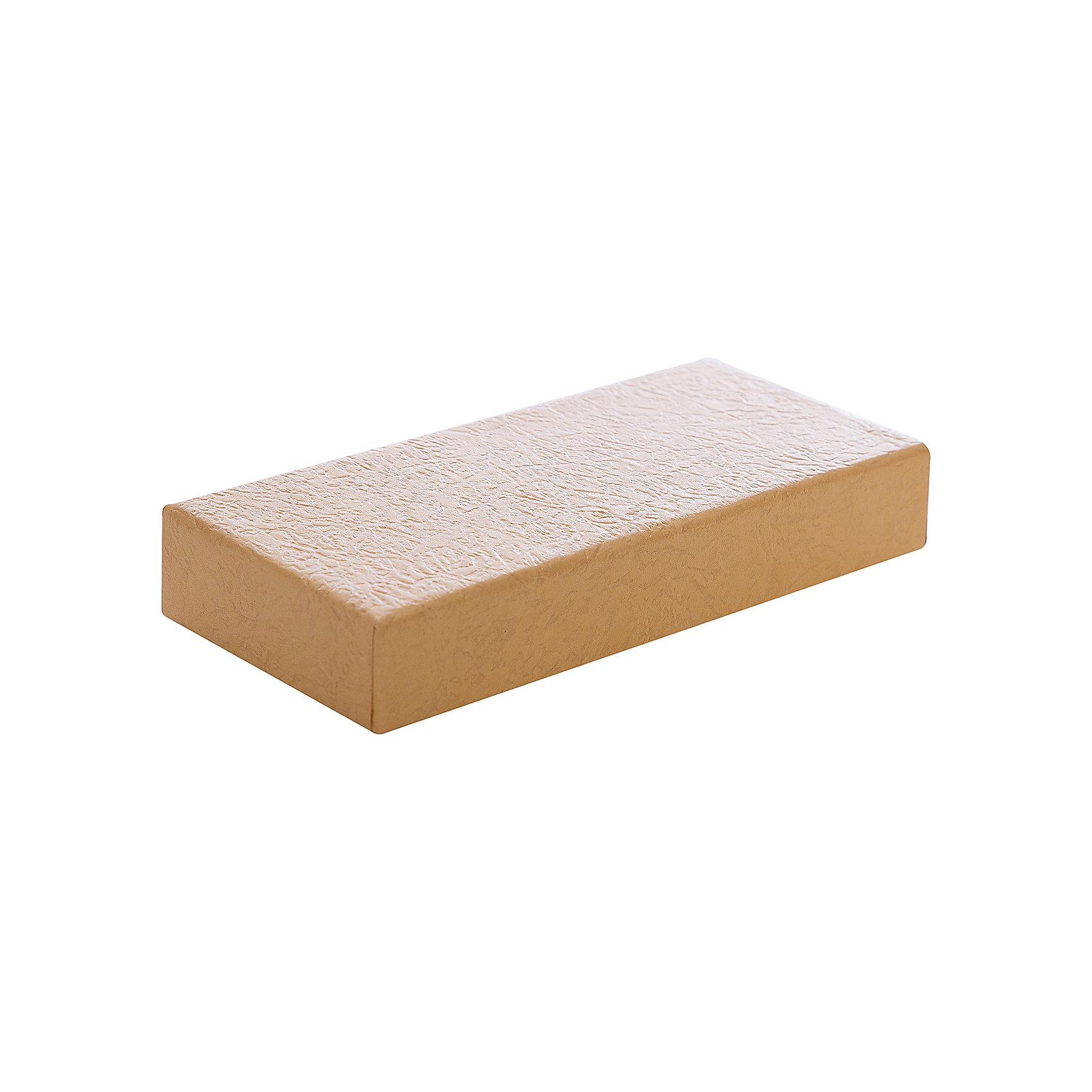 Подарочная коробка ПЕСОЧНЫЙ, Феникс-ПрезентПредметы интерьера<br>Подарочная коробка ПЕСОЧНЫЙ, Феникс-Презент<br><br>Характеристики:<br><br>• практичная коробка для подарков и хранения<br>• изготовлена из мелованного негофрированного картона<br>• размер: 12х5,2х2 см<br>• цвет: песочный<br><br>Упаковка подарков - важное и ответственное занятие, ведь если упаковка красивая - праздничное настроение гарантировано! Коробка ПЕСОЧНЫЙ изготовлена из прочного мелованного картона. Лаконичный дизайн коробки отлично подойдет не только для подарка, но и для хранения различных безделушек.<br><br>Подарочную коробку ПЕСОЧНЫЙ, Феникс-Презент вы можете купить в нашем интернет-магазине.<br><br>Ширина мм: 120<br>Глубина мм: 55<br>Высота мм: 20<br>Вес г: 240<br>Возраст от месяцев: 36<br>Возраст до месяцев: 2147483647<br>Пол: Унисекс<br>Возраст: Детский<br>SKU: 5449650
