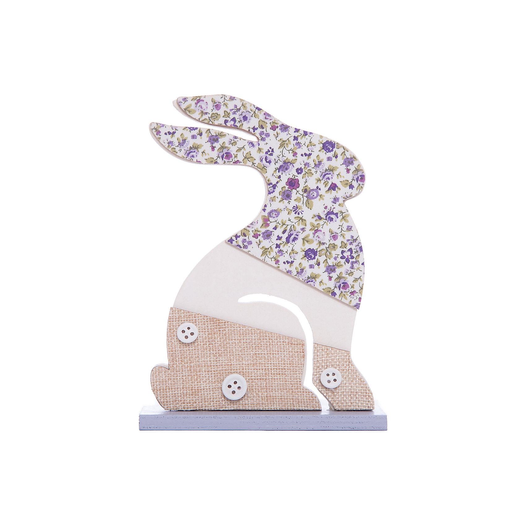 Фигурка декоративная  из древесины павловнии с аппликацией, 11*4*15, Феникс-Презент