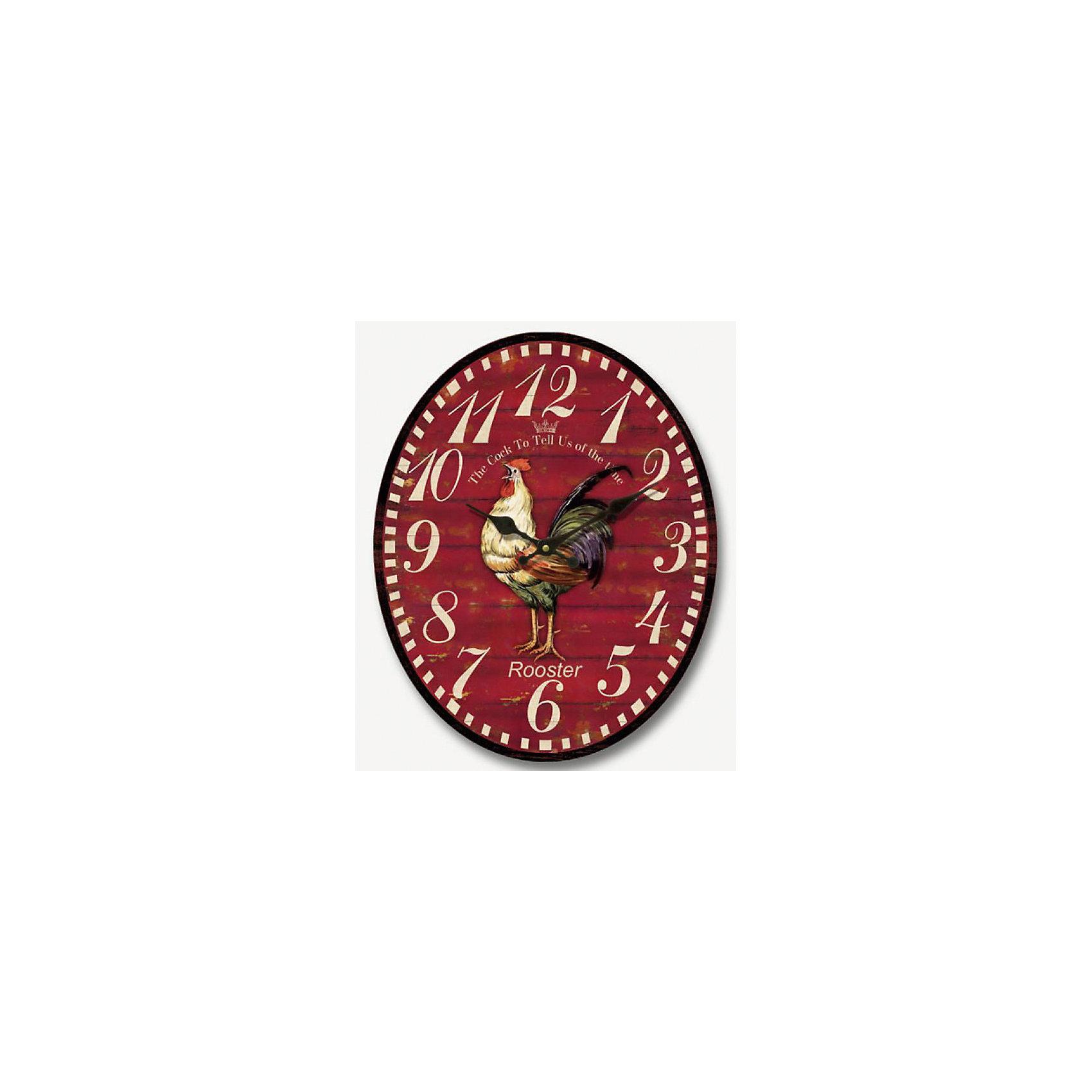 Часы настенные Петух кварцевые, с циферблатом, Феникс-ПрезентПредметы интерьера<br>Часы настенные Петух кварцевые, с циферблатом, Феникс-Презент<br><br>Характеристики:<br><br>• овальная форма<br>• яркий рисунок<br>• тип часов: кварцевые<br>• размер: 32х40 см<br>• материал: МДФ<br>• батарейки: АА - 1 шт. (не входит в комплект)<br><br>Настенные часы Петух добавят индивидуальности в интерьер вашей комнаты и, конечно же, подскажут точное время. Часы изготовлены из экологически чистых материалов. На циферблате расположены две стрелки - минутная и часовая. Часы оформлены ярким рисунком с изображением петуха.<br><br>Часы настенные Петух кварцевые, с циферблатом, Феникс-Презент вы можете купить в нашем интернет-магазине.<br><br>Ширина мм: 290<br>Глубина мм: 410<br>Высота мм: 320<br>Вес г: 1000<br>Возраст от месяцев: 120<br>Возраст до месяцев: 2147483647<br>Пол: Унисекс<br>Возраст: Детский<br>SKU: 5449700