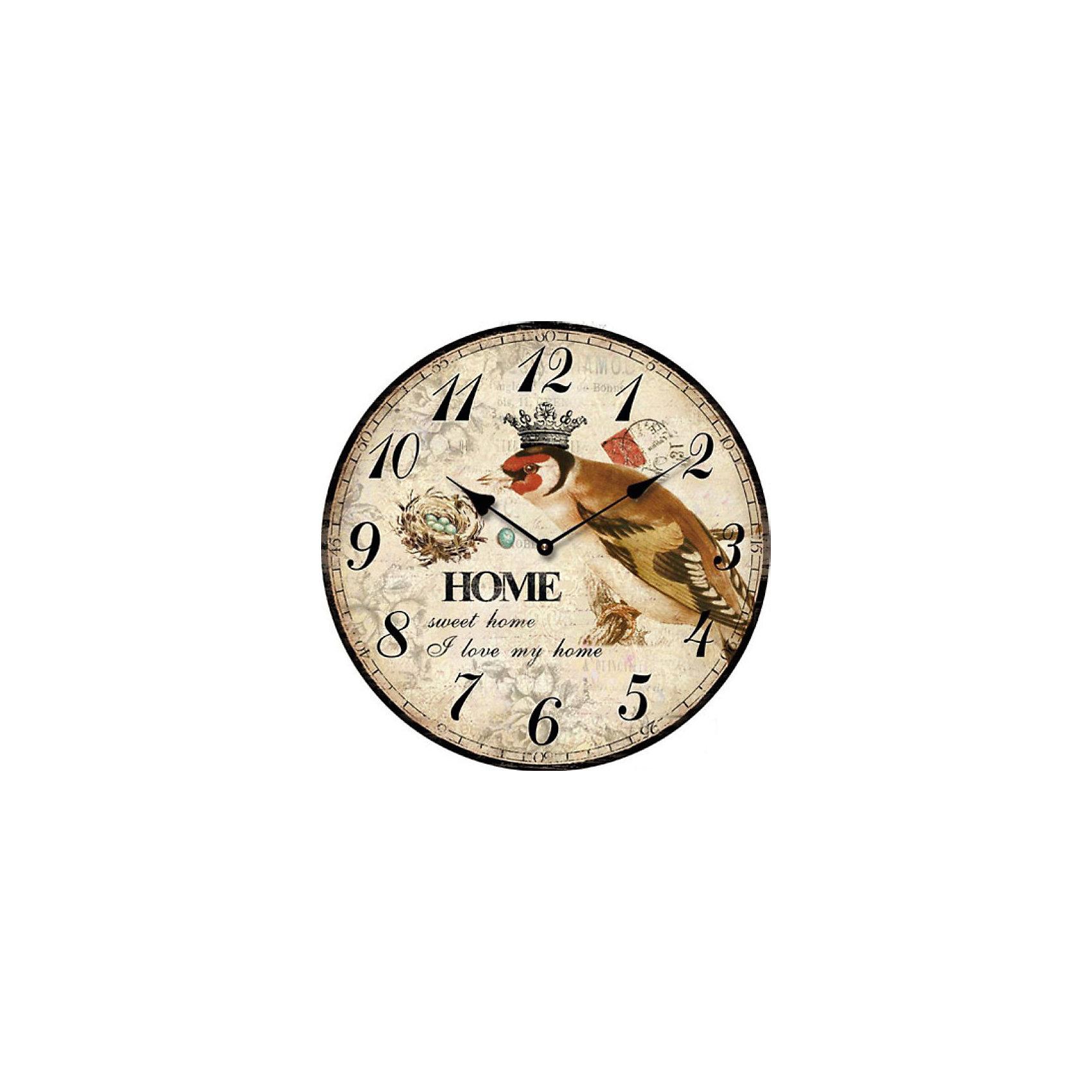 Часы настольные Король птиц кварцевые, с циферблатом, Феникс-ПрезентПредметы интерьера<br>Часы настольные Король птиц кварцевые, с циферблатом, Феникс-Презент<br><br>Характеристики:<br><br>• яркий рисунок<br>• тип часов: кварцевые<br>• размер: 10х10 см<br>• материал: МДФ<br>• батарейки: АА - 1 шт. (не входит в комплект)<br><br>Настольные часы Король птиц всегда подскажут вам точное время, а также украсят интерьер комнаты. Часы изготовлены из МДФ. Циферблат оформлен красивым рисунком с изображением соловья. На часах расположены две стрелки - минутная и часовая. Сзади располагается надежная подставка для стола.<br><br>Часы настольные Король птиц кварцевые, с циферблатом, Феникс-Презент вы можете купить в нашем интернет-магазине.<br><br>Ширина мм: 100<br>Глубина мм: 100<br>Высота мм: 100<br>Вес г: 177<br>Возраст от месяцев: 120<br>Возраст до месяцев: 2147483647<br>Пол: Унисекс<br>Возраст: Детский<br>SKU: 5449702